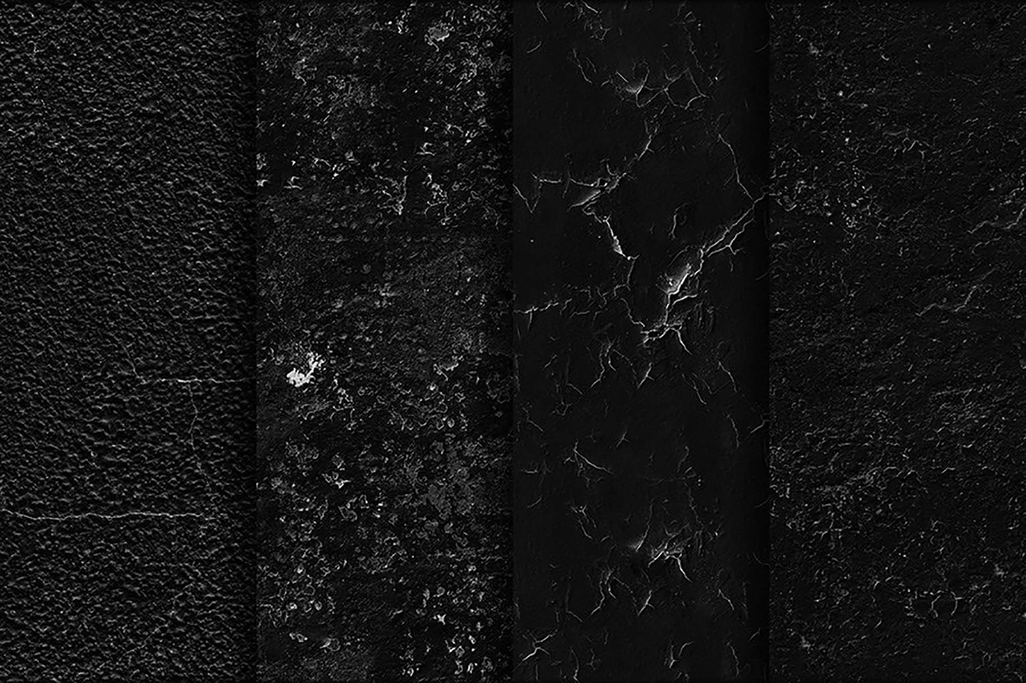 Black Wall Seamless Textures 3