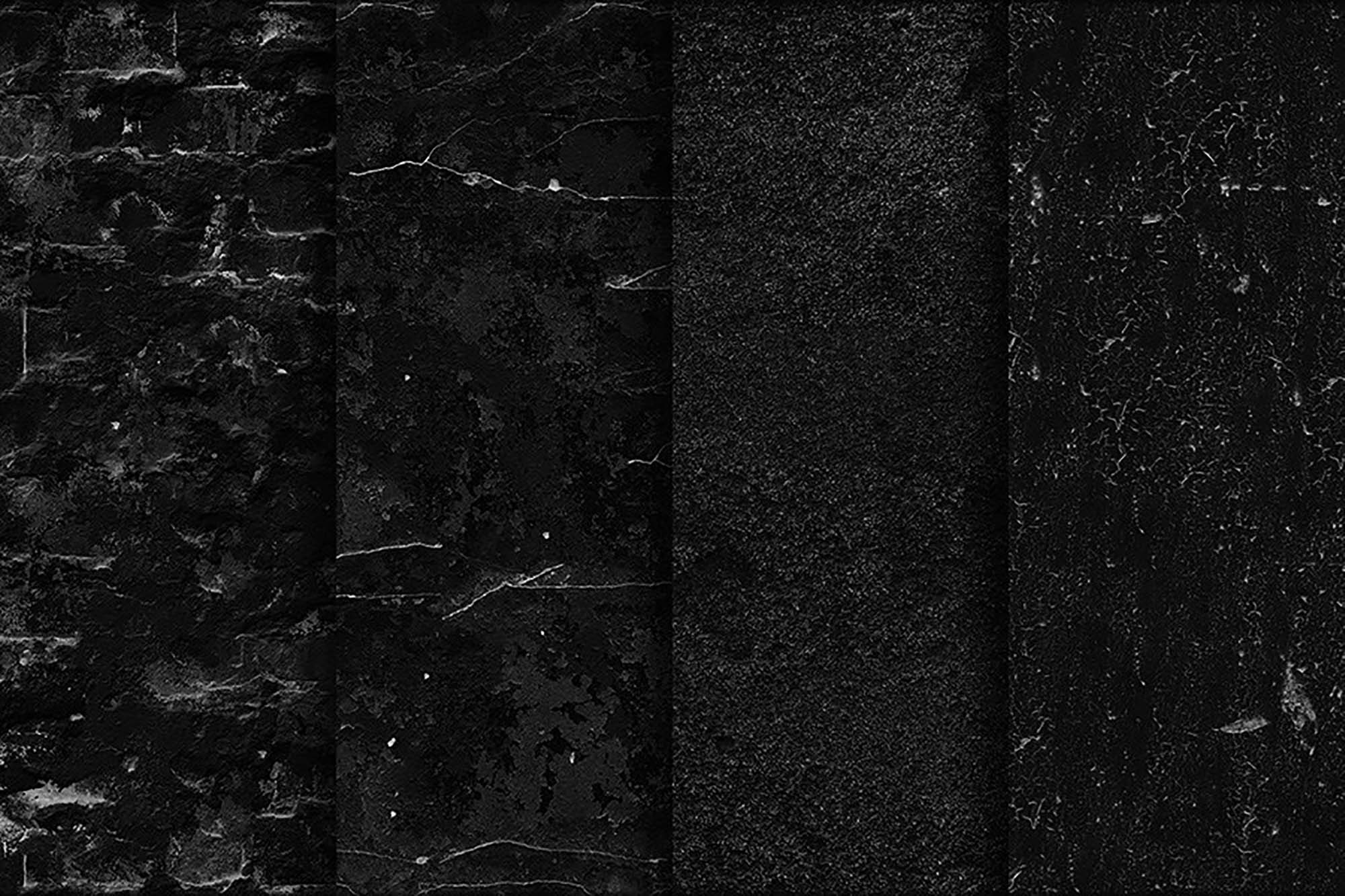 Black Wall Seamless Textures 4