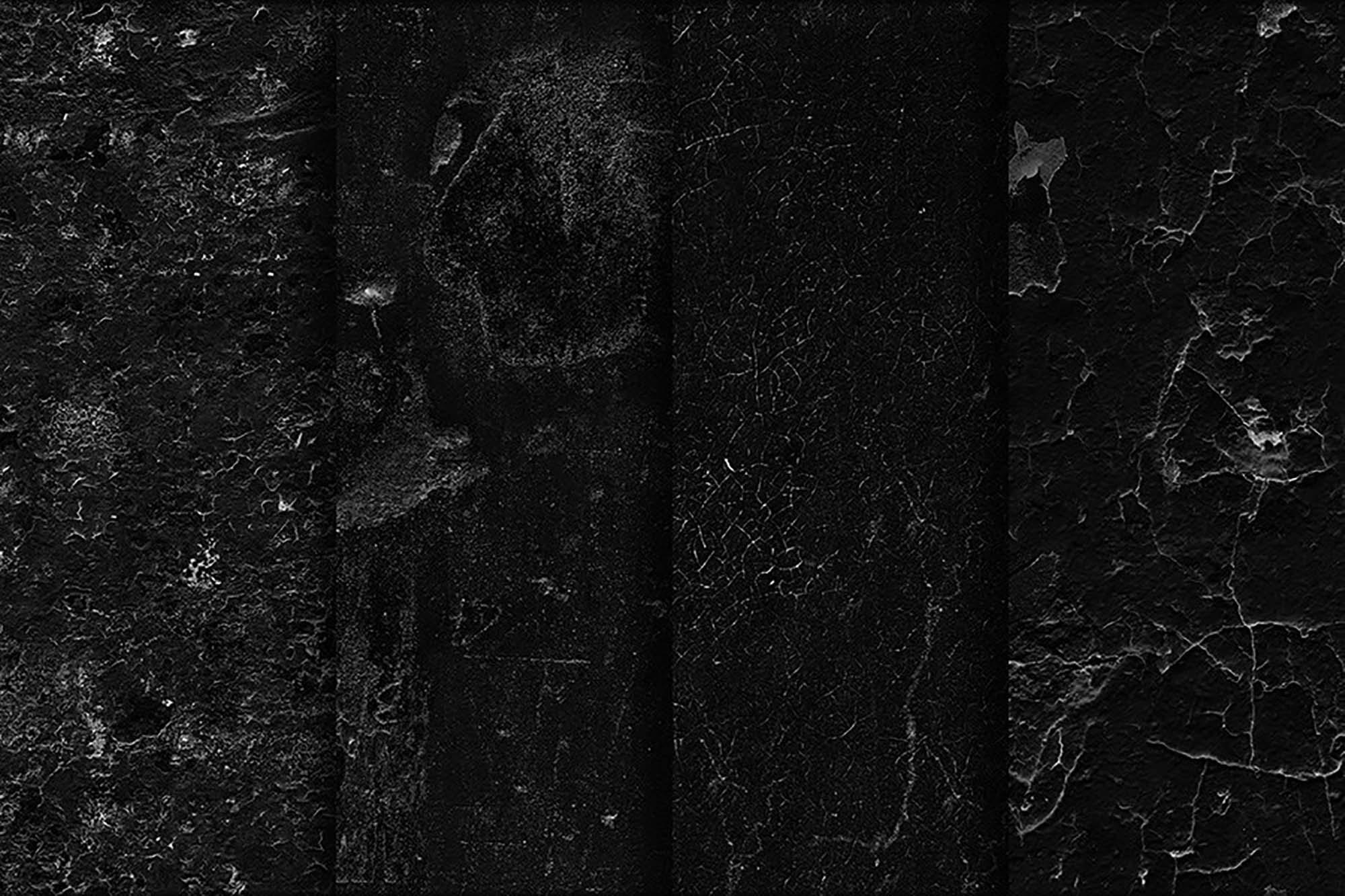 Black Wall Seamless Textures 5