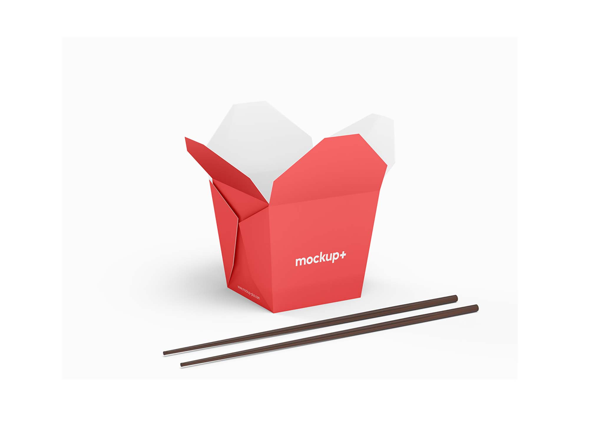 Chinese Noodles Packaging Mockup 2