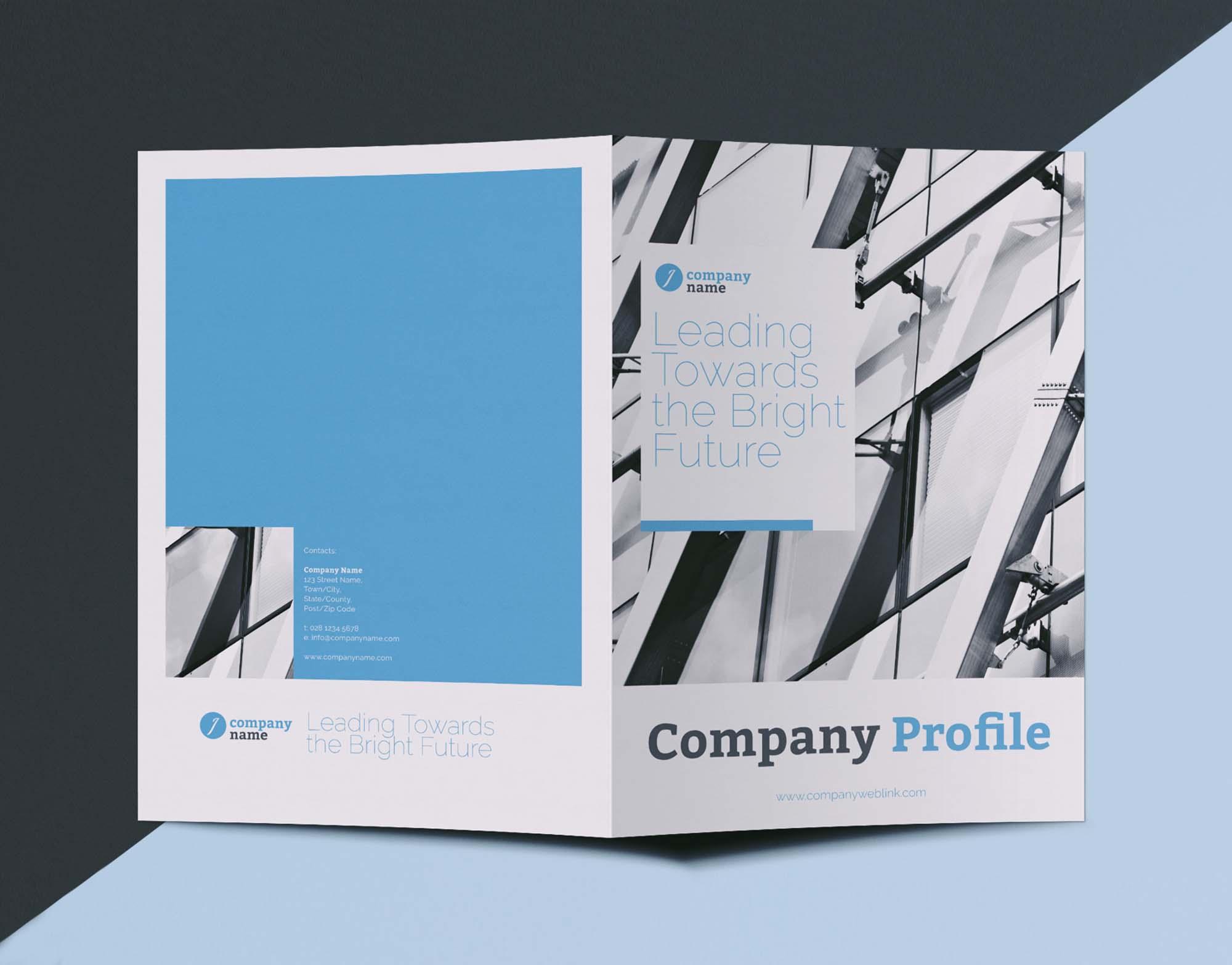 Company Profile Brochure Template 1