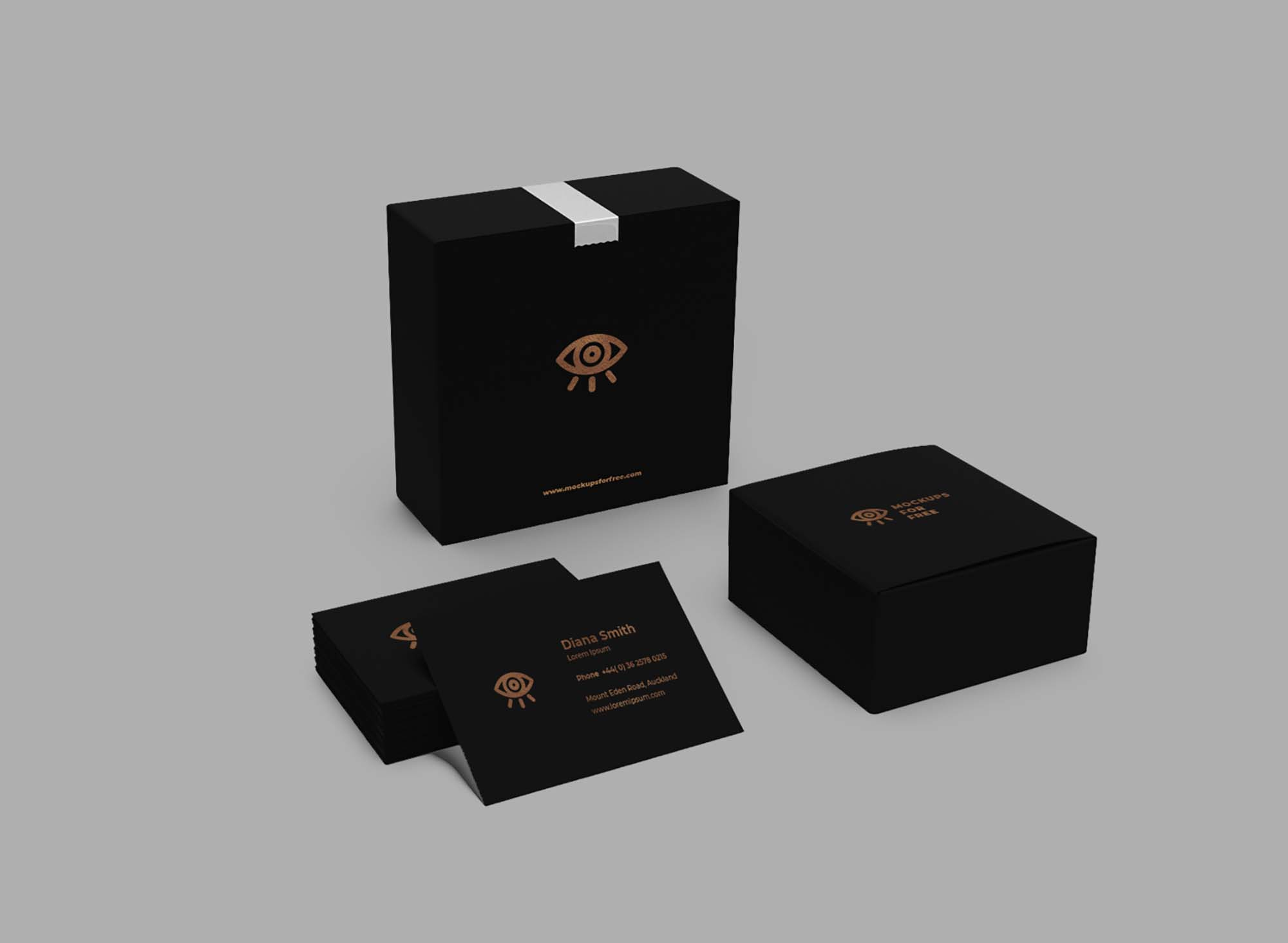Corporate Boxes Mockup 1
