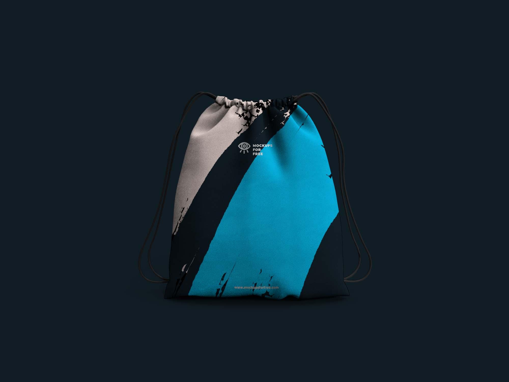 Drawstring Bag Mockup 2