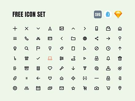 Essential Icons Set