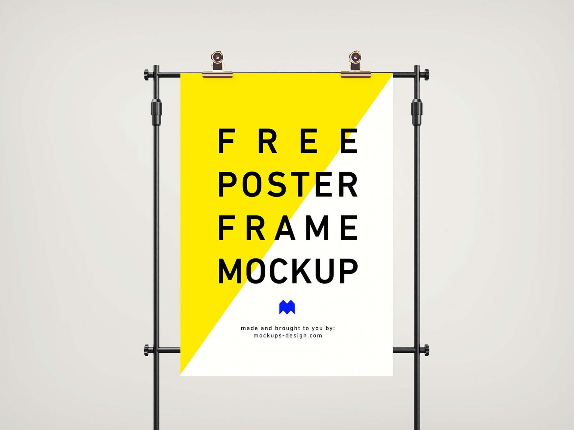 Frame Poster Mockup