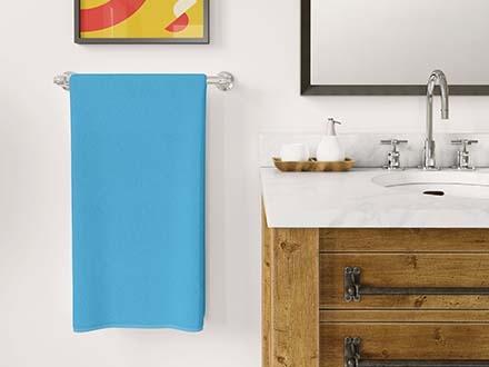 Bathroom Towel Mockup