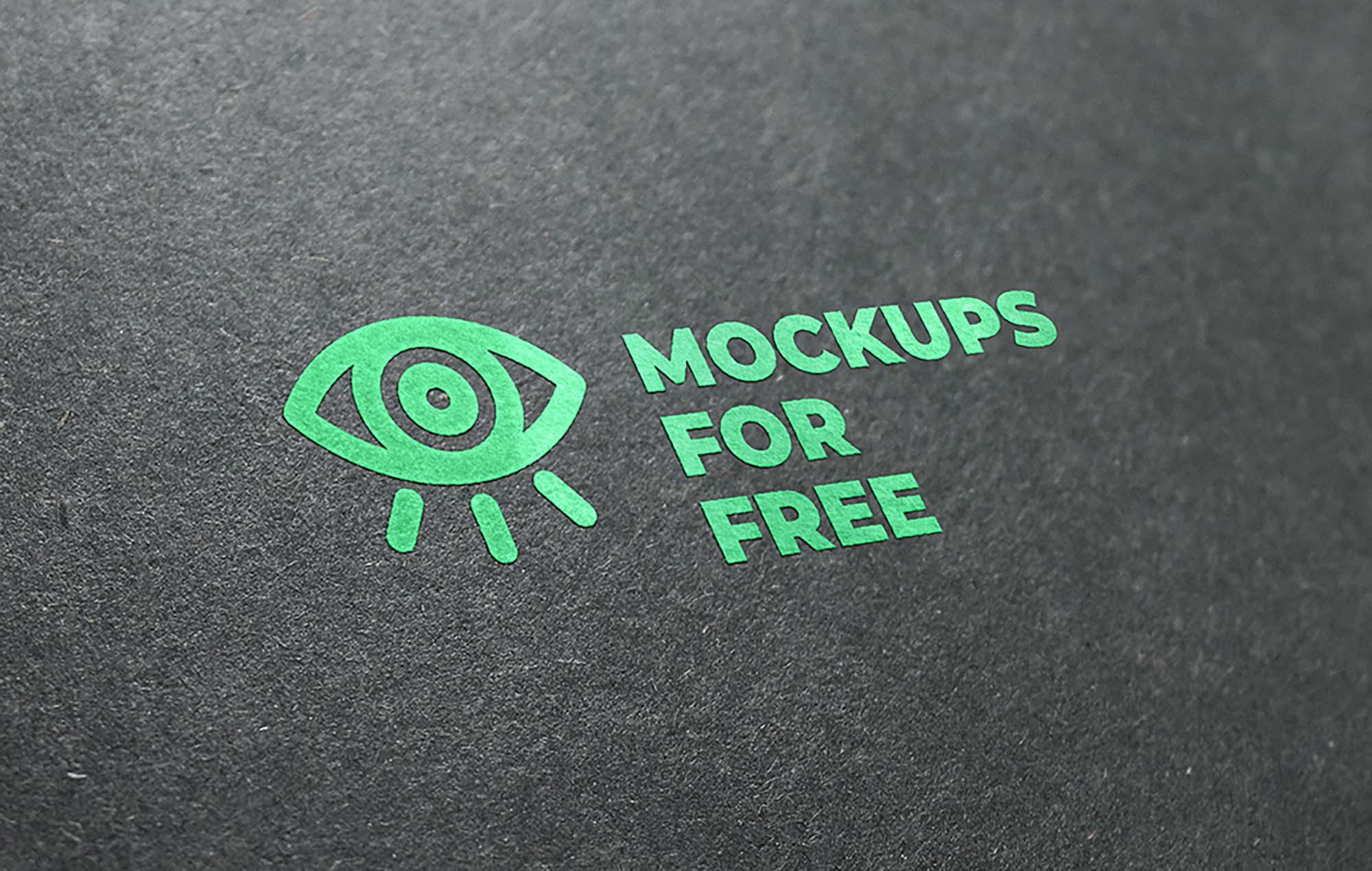 Logo Mockup Green