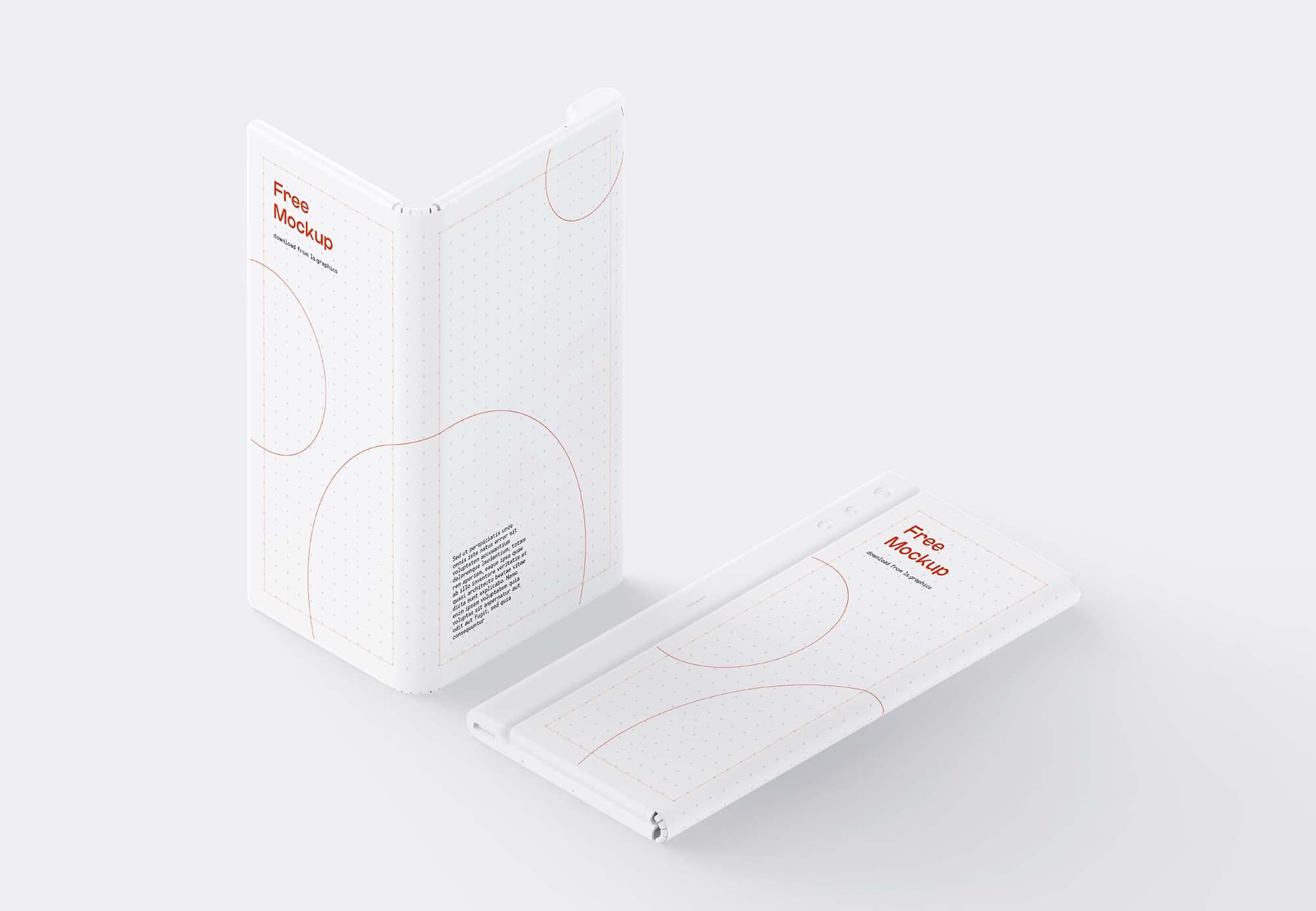 Huawei Mate X Phone Mockup 2