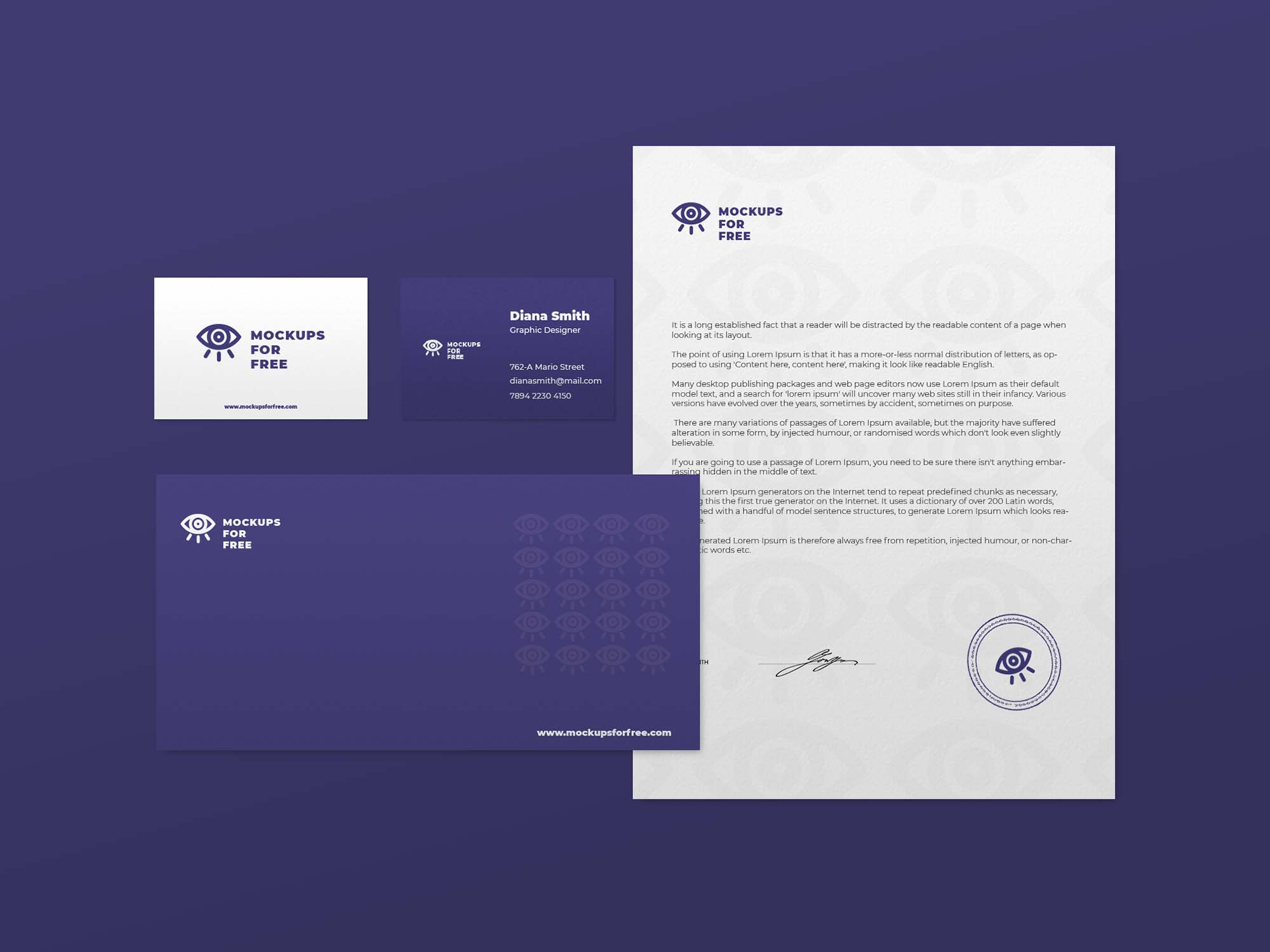 Minimal Branding Presentation Mockup 2