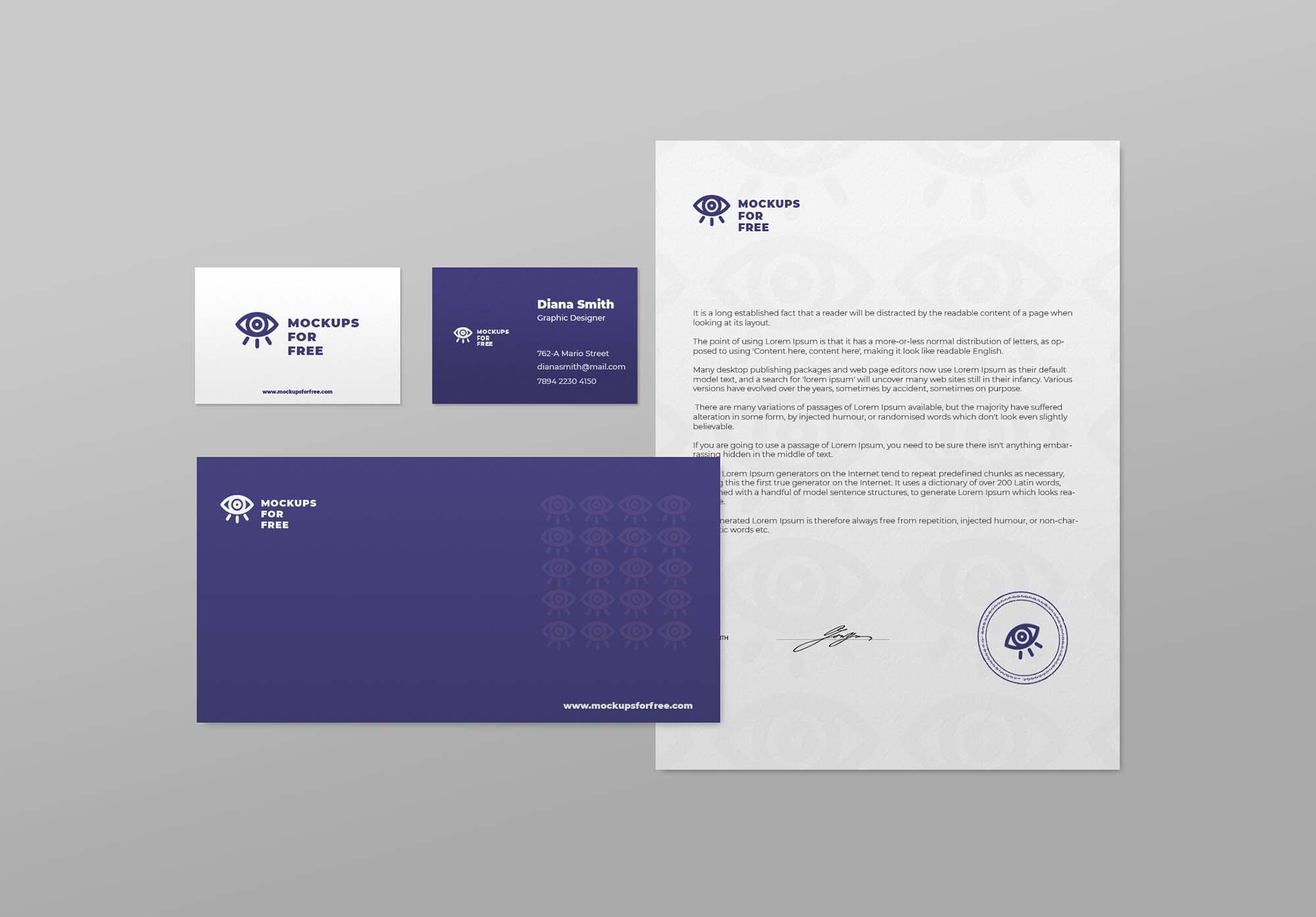 Minimal Branding Presentation Mockup