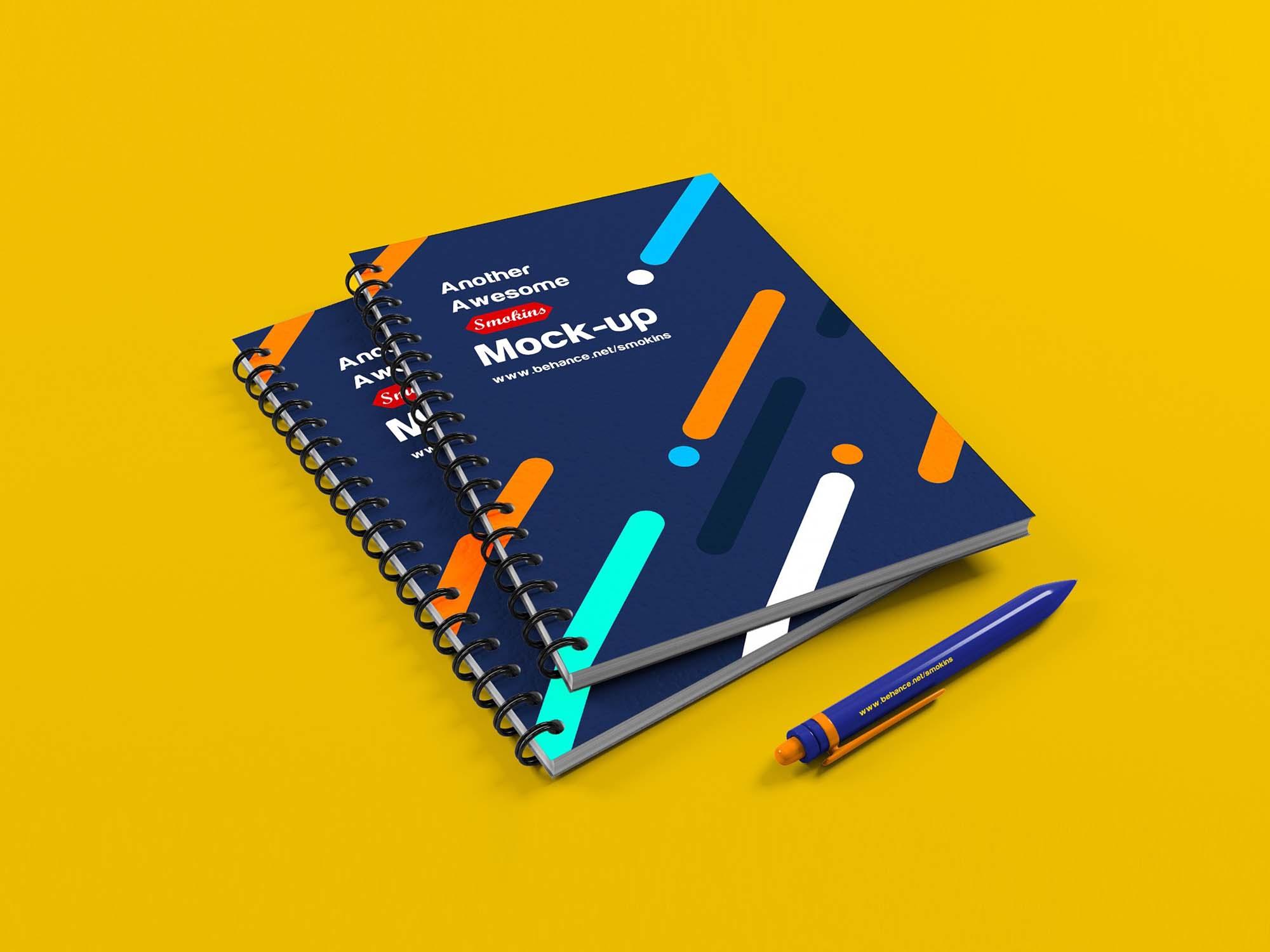 Notebook Mockup 2