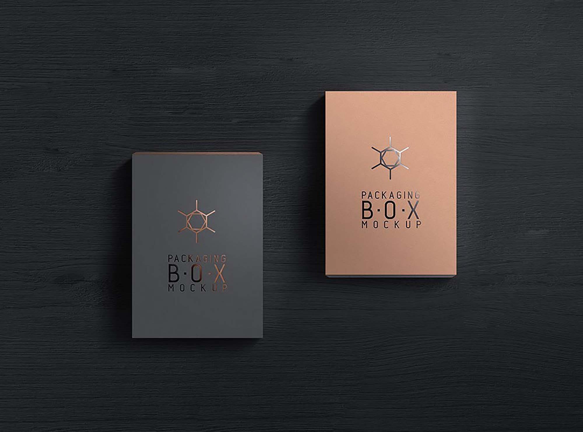 Packaging Product Box Mockup 2