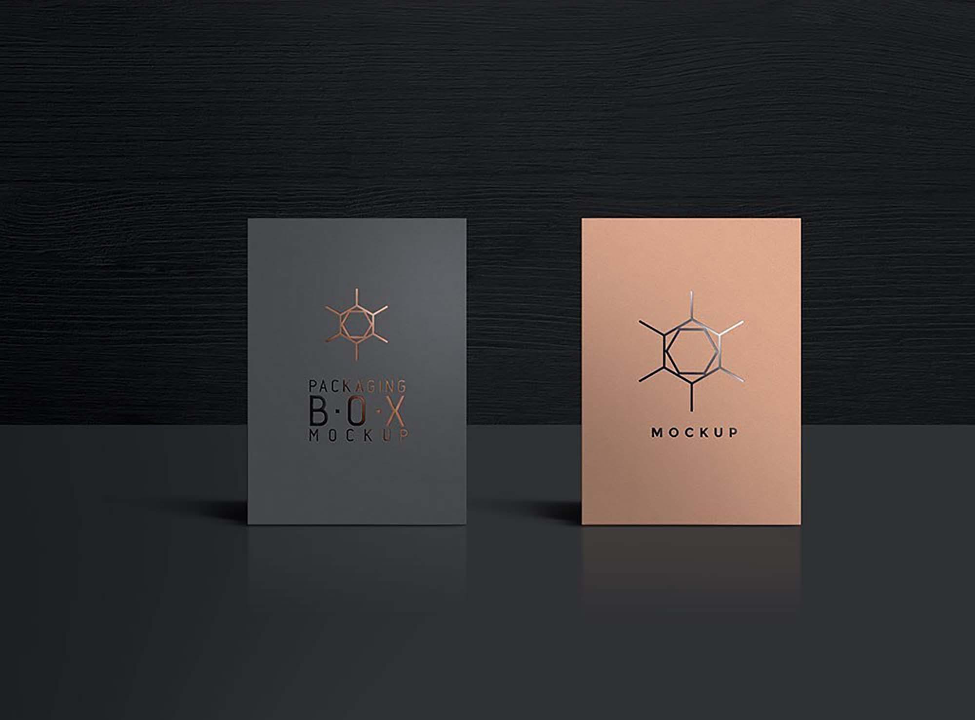 Packaging Product Box Mockup 3