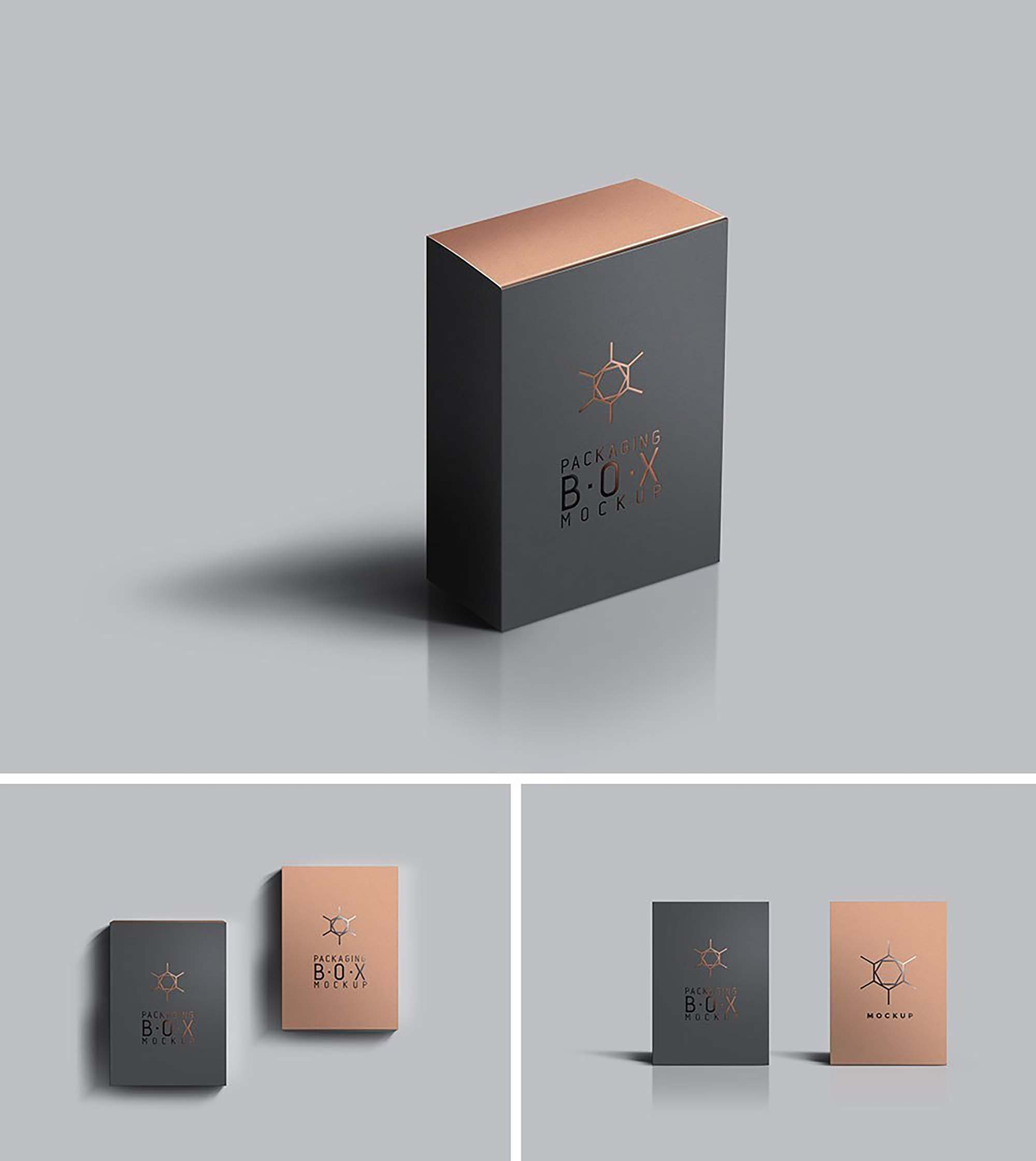 Packaging Product Box Mockup 4