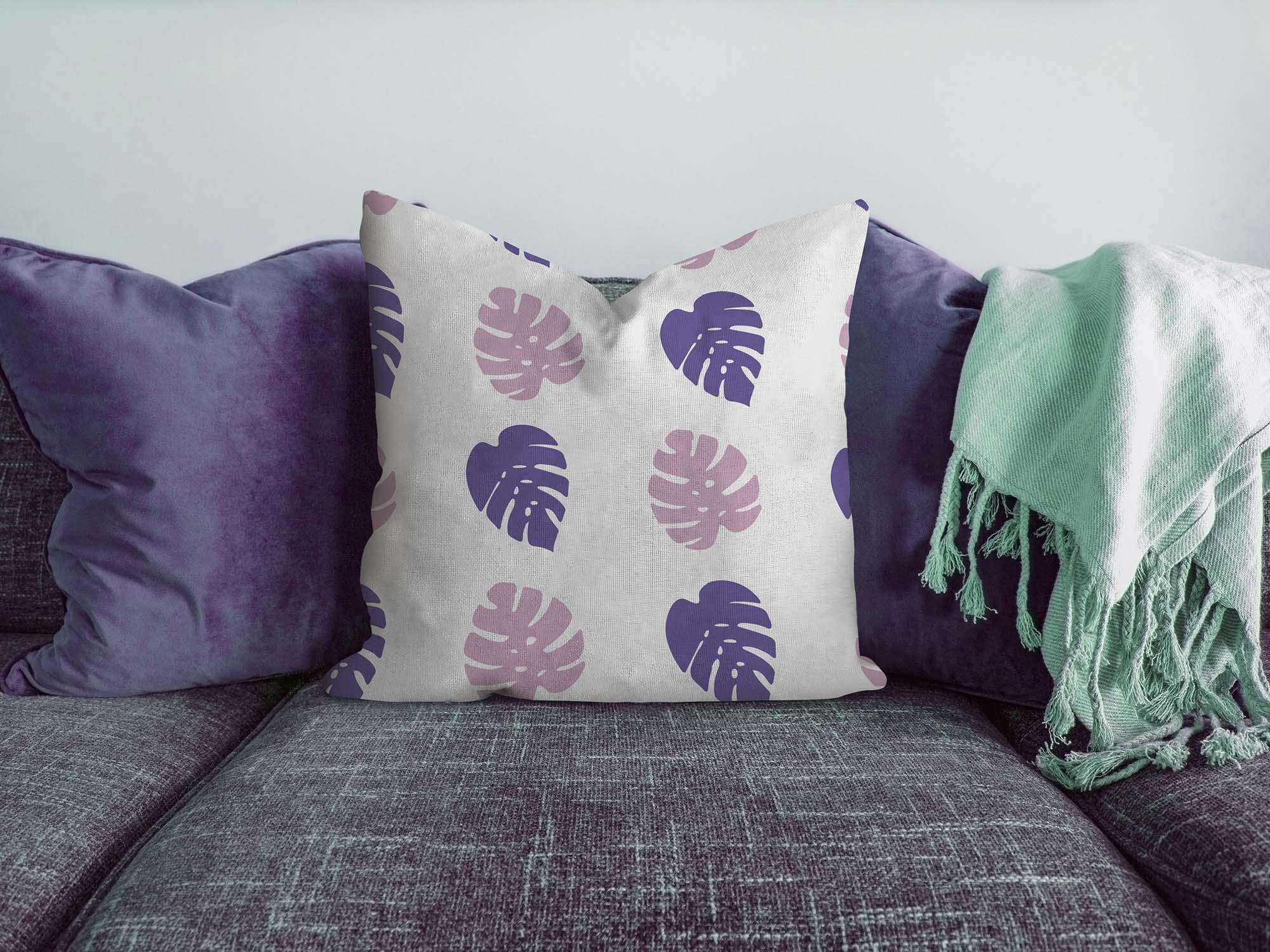Pillow on Sofa Mockup 1