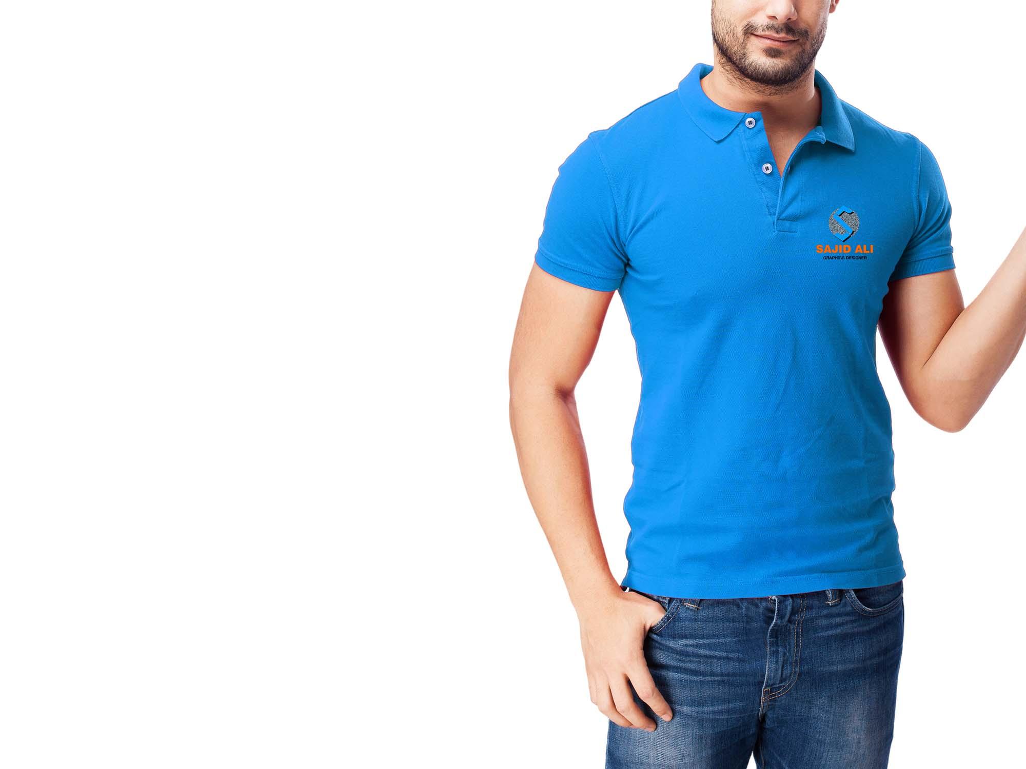 Polo T-Shirt Mockup 2