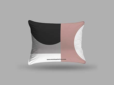 Rectangle Pillow Mockup