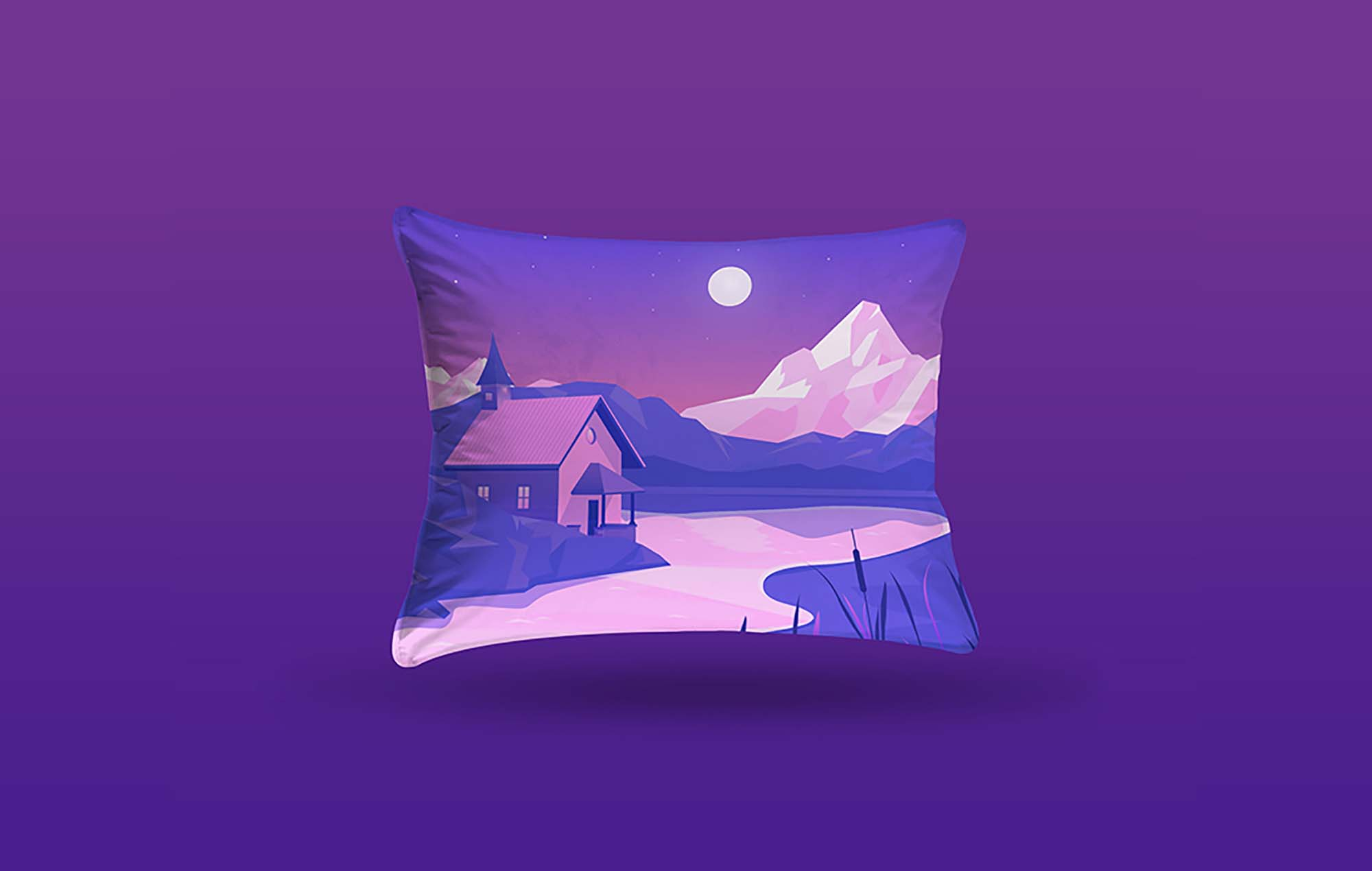 Rectangle Pillow Mockup 2