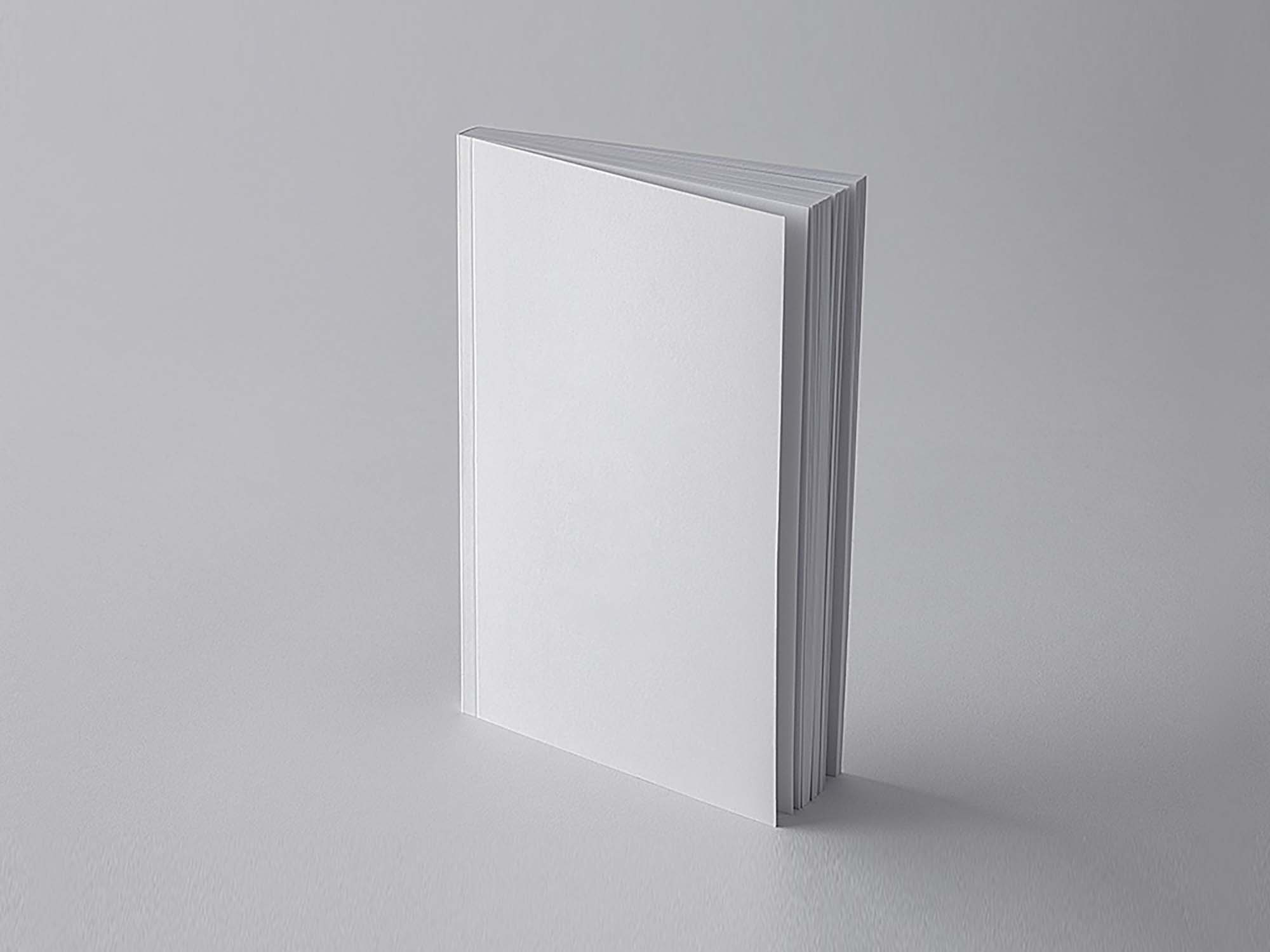 Simple Book Cover Mockup 1