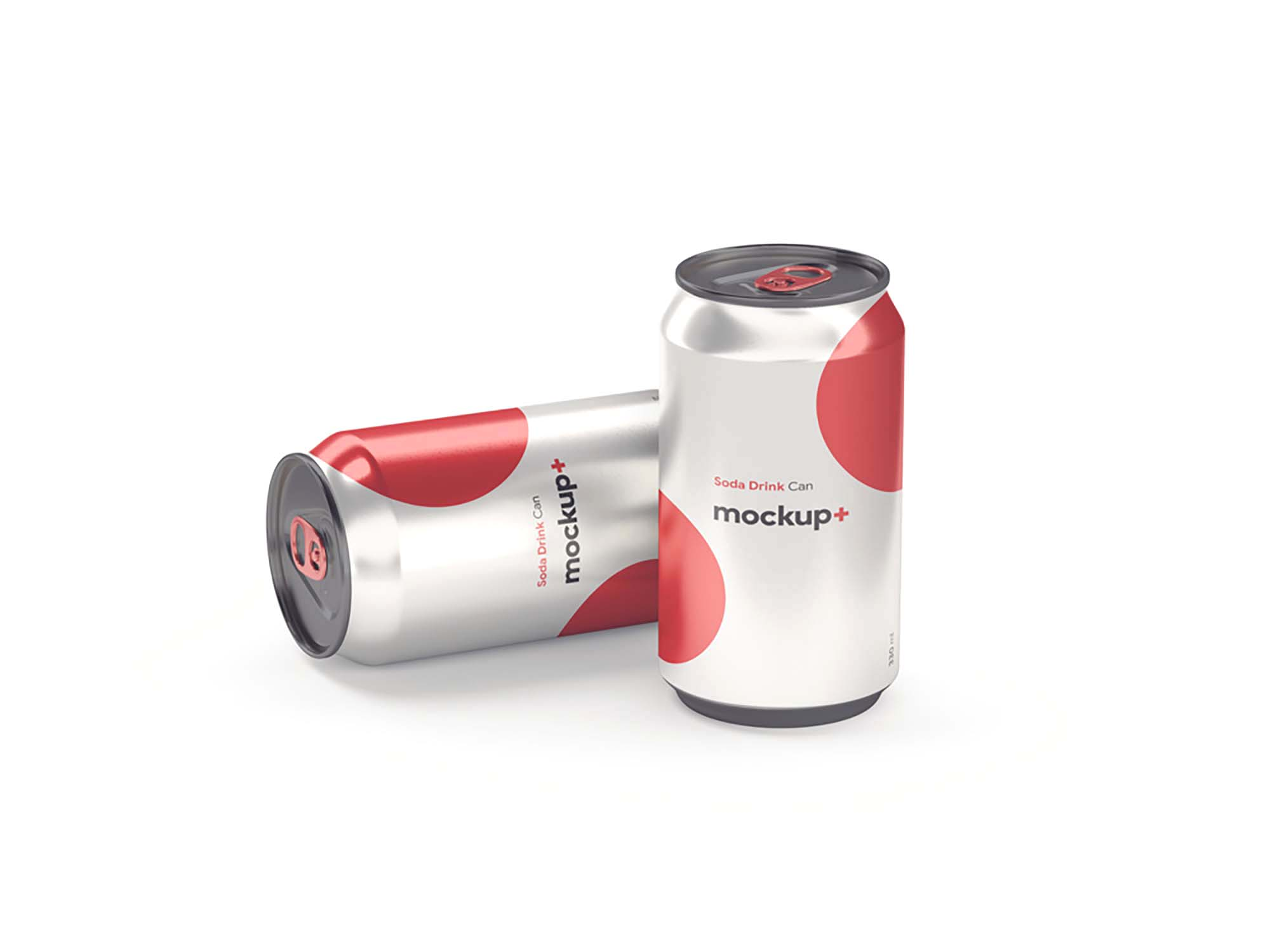 Soda Drink Can Mockup 1