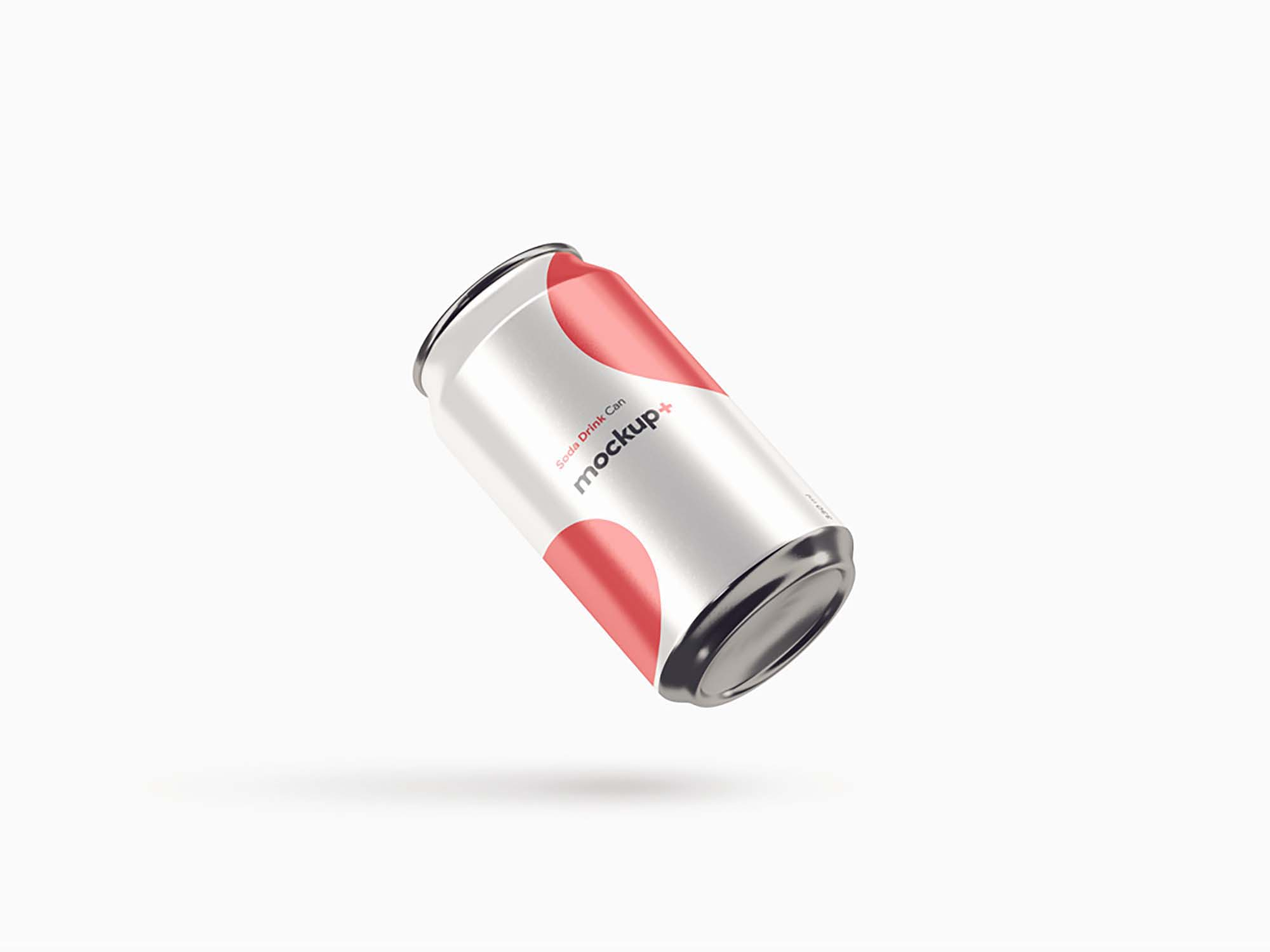Soda Drink Can Mockup 4