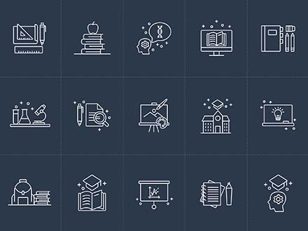 Vector Education Icons