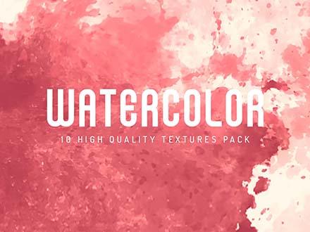 10 Watercolor Textures