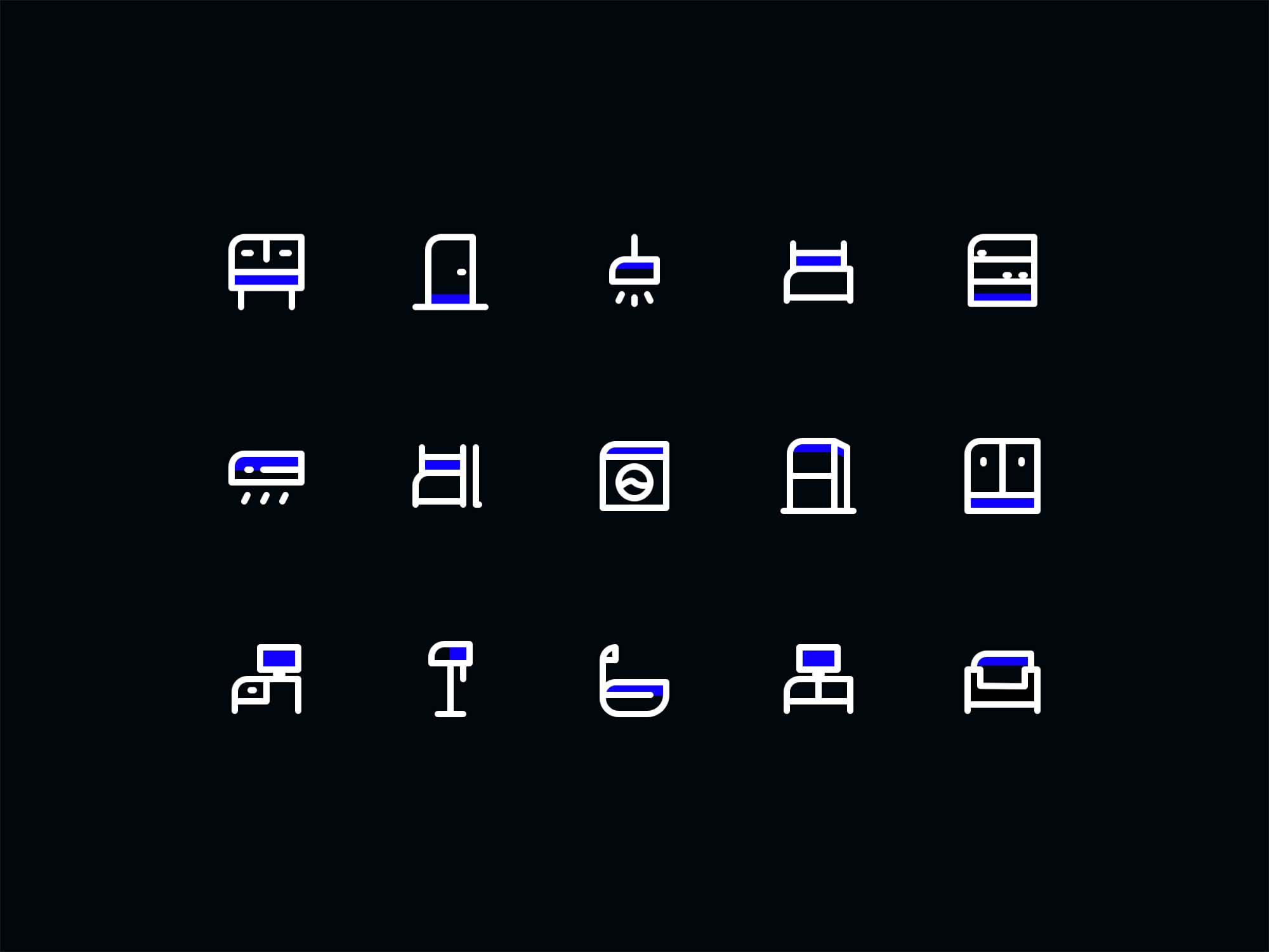 15 Free Furniture Icons 2