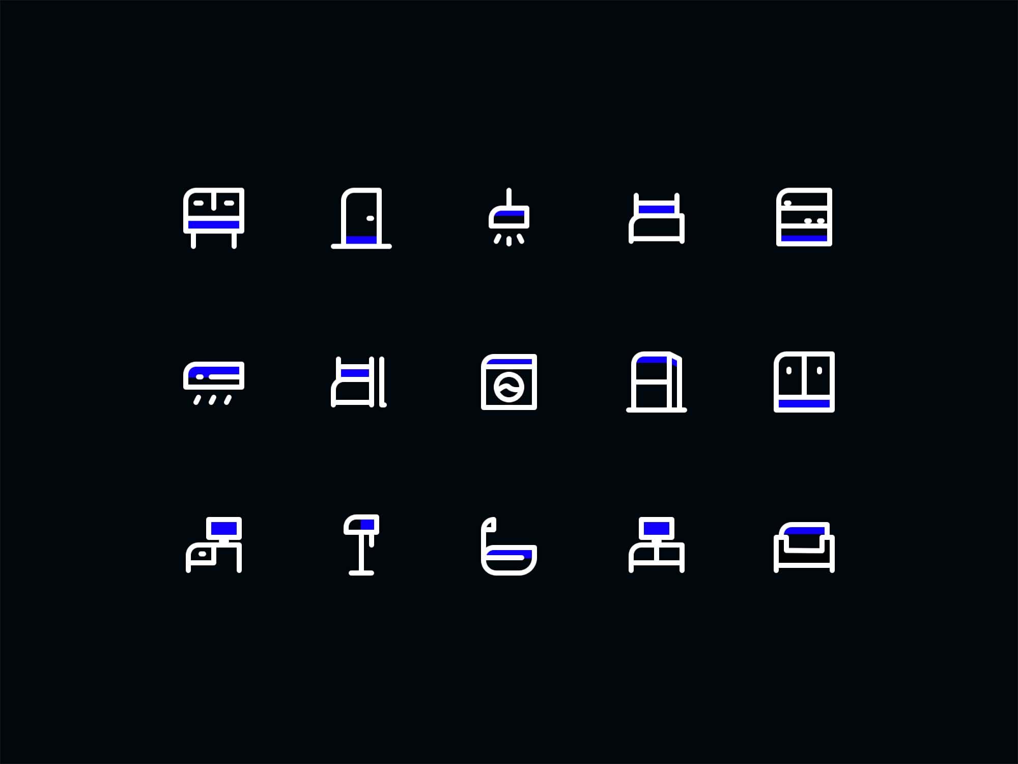 15 Free Furniture Icons 2