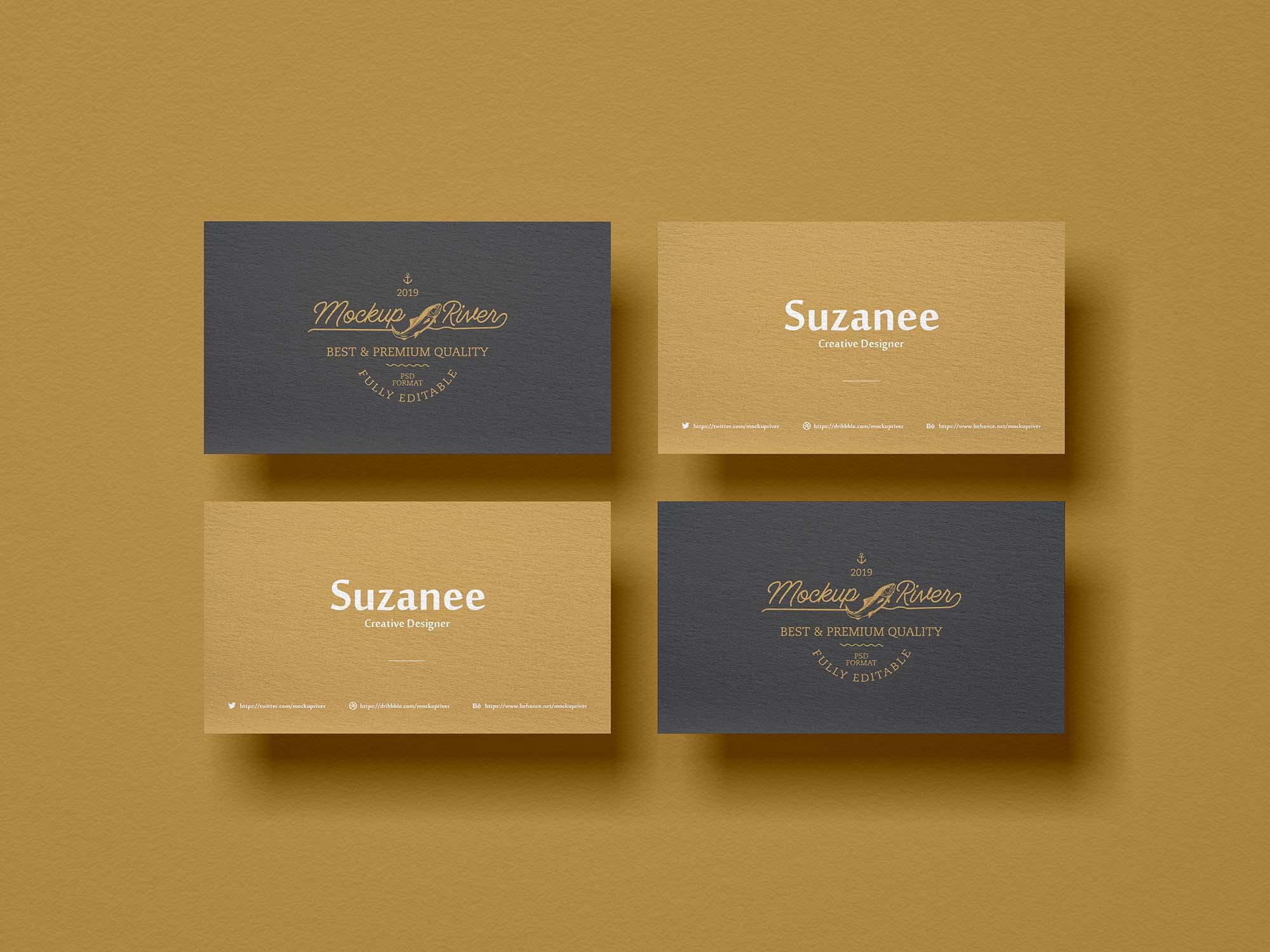 Branding Business Card Mockup 2