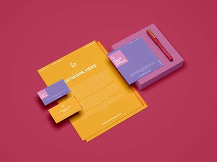 Branding Stationery Mockup 2019