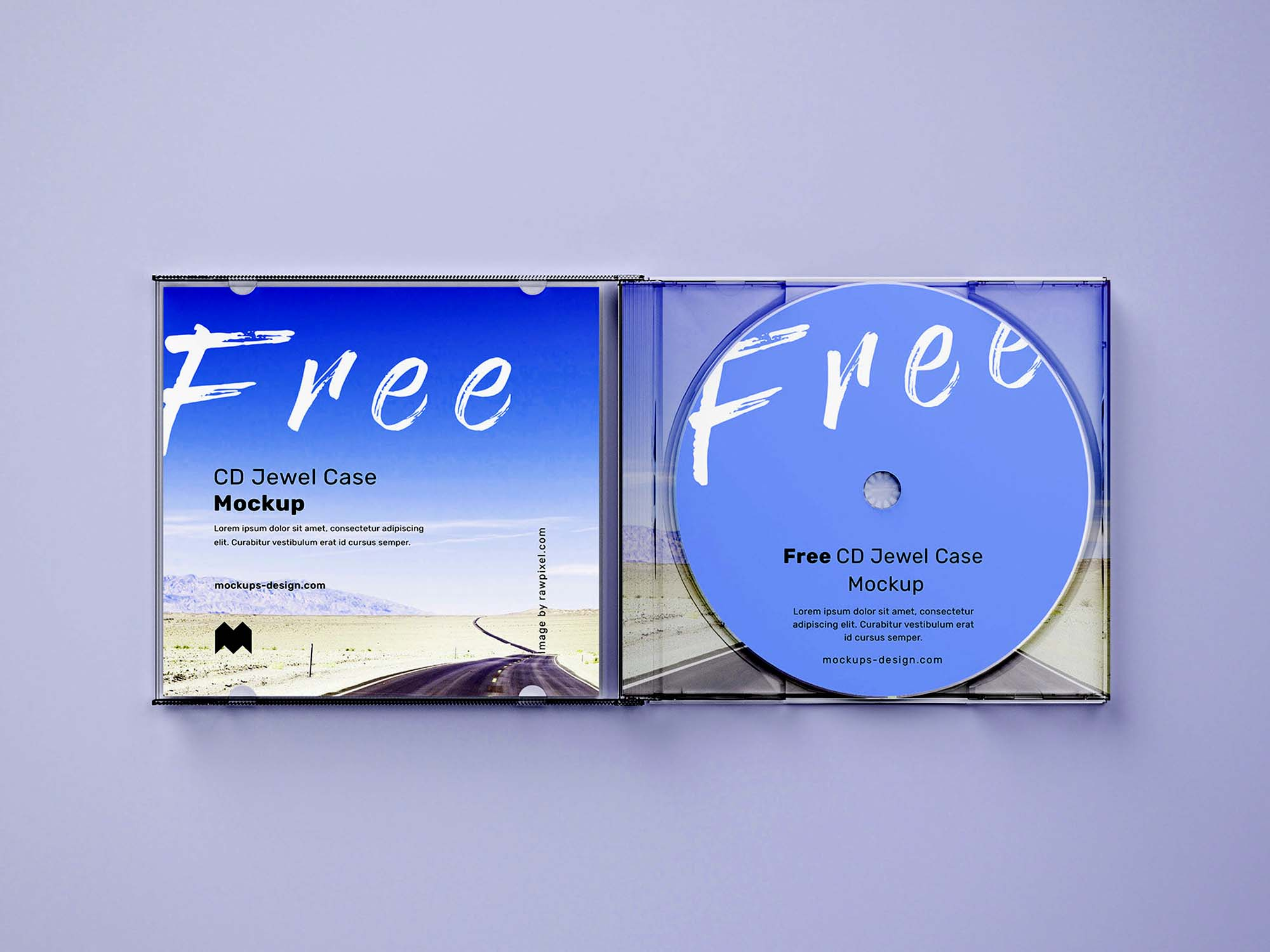 CD Jewel Case Mockup 5