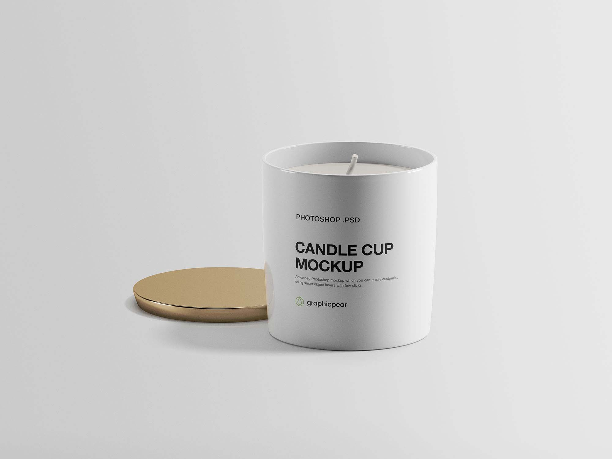 Candle Cup Mockup