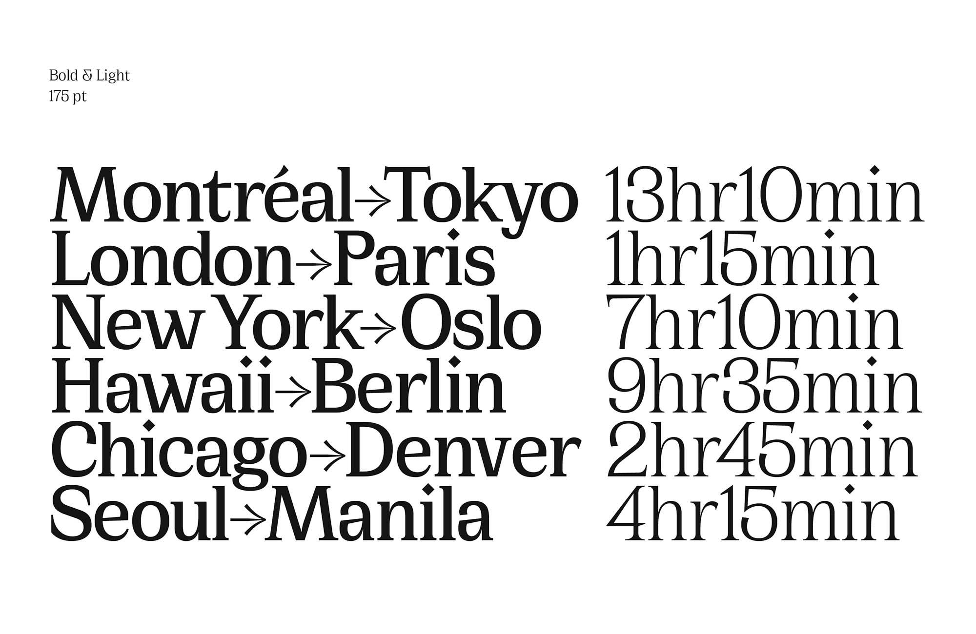 Cirka Serif Font 1