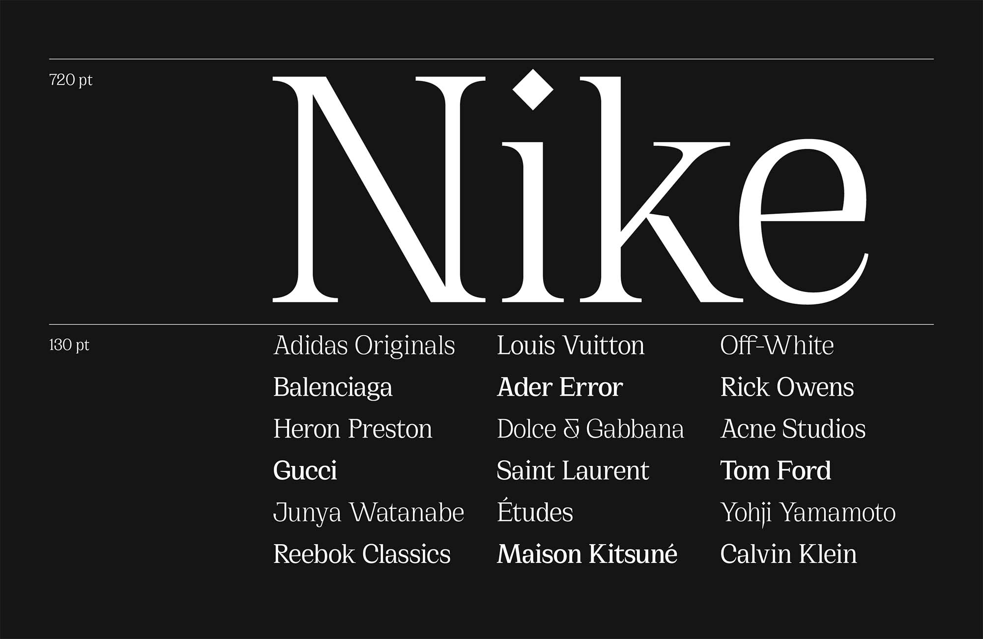 Cirka Serif Font 2