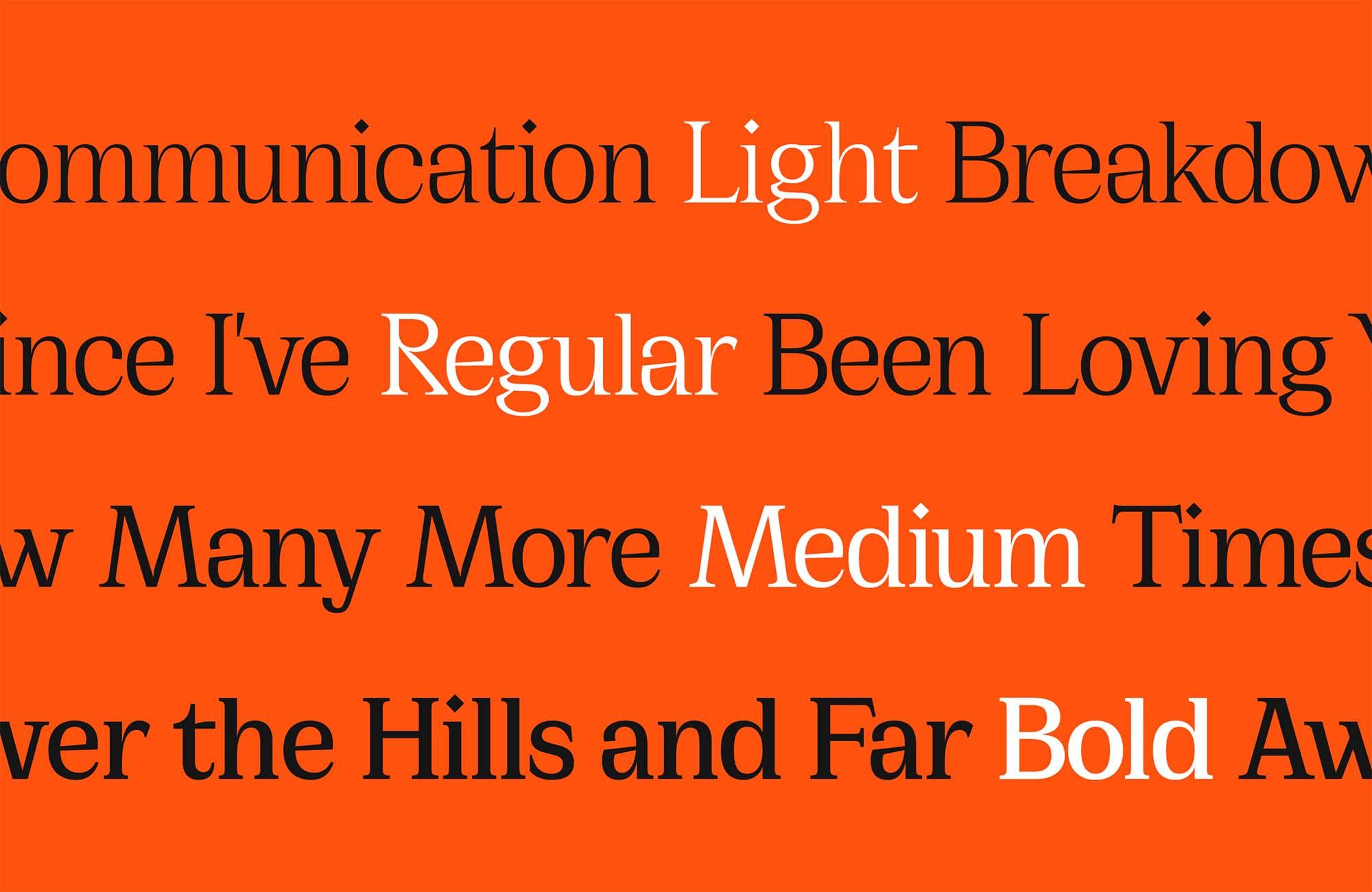 Cirka Serif Font 6