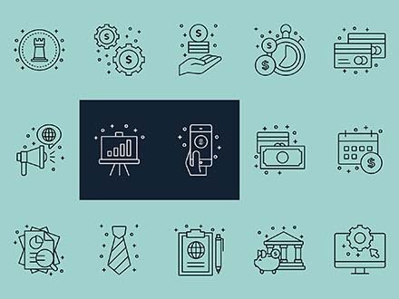 Corporate Business Vector Icons