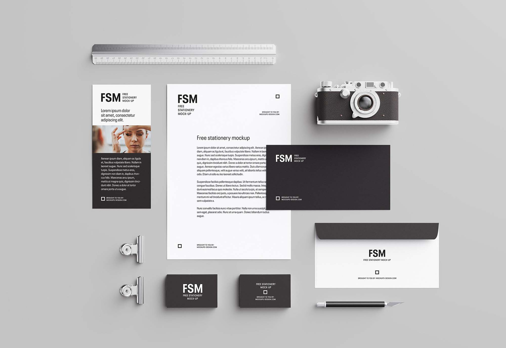 Creative Stationery Mockup
