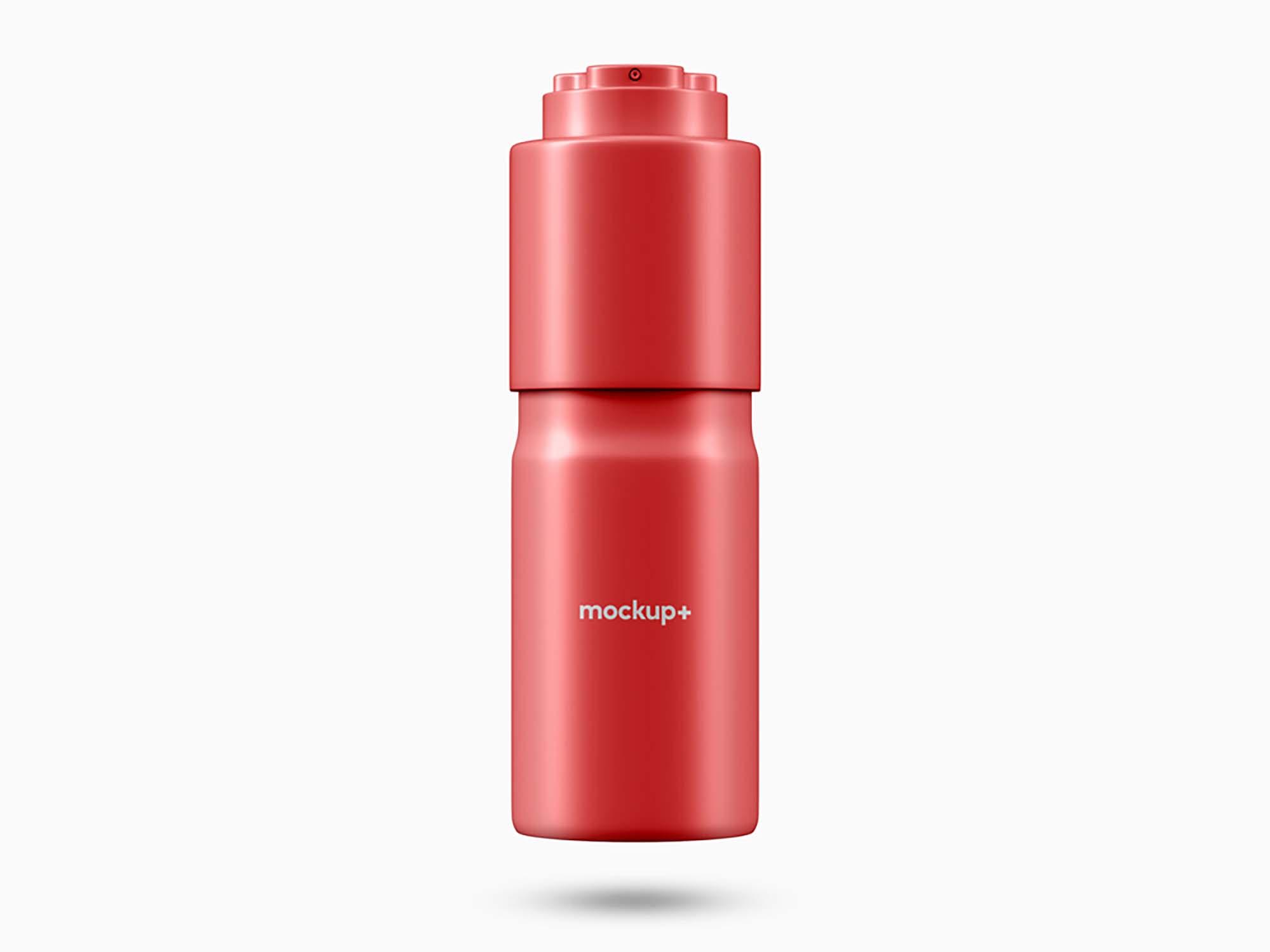 Deodorant Spray Bottle Mockup 2