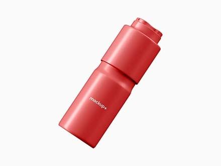 Deodorant Spray Bottle Mockup