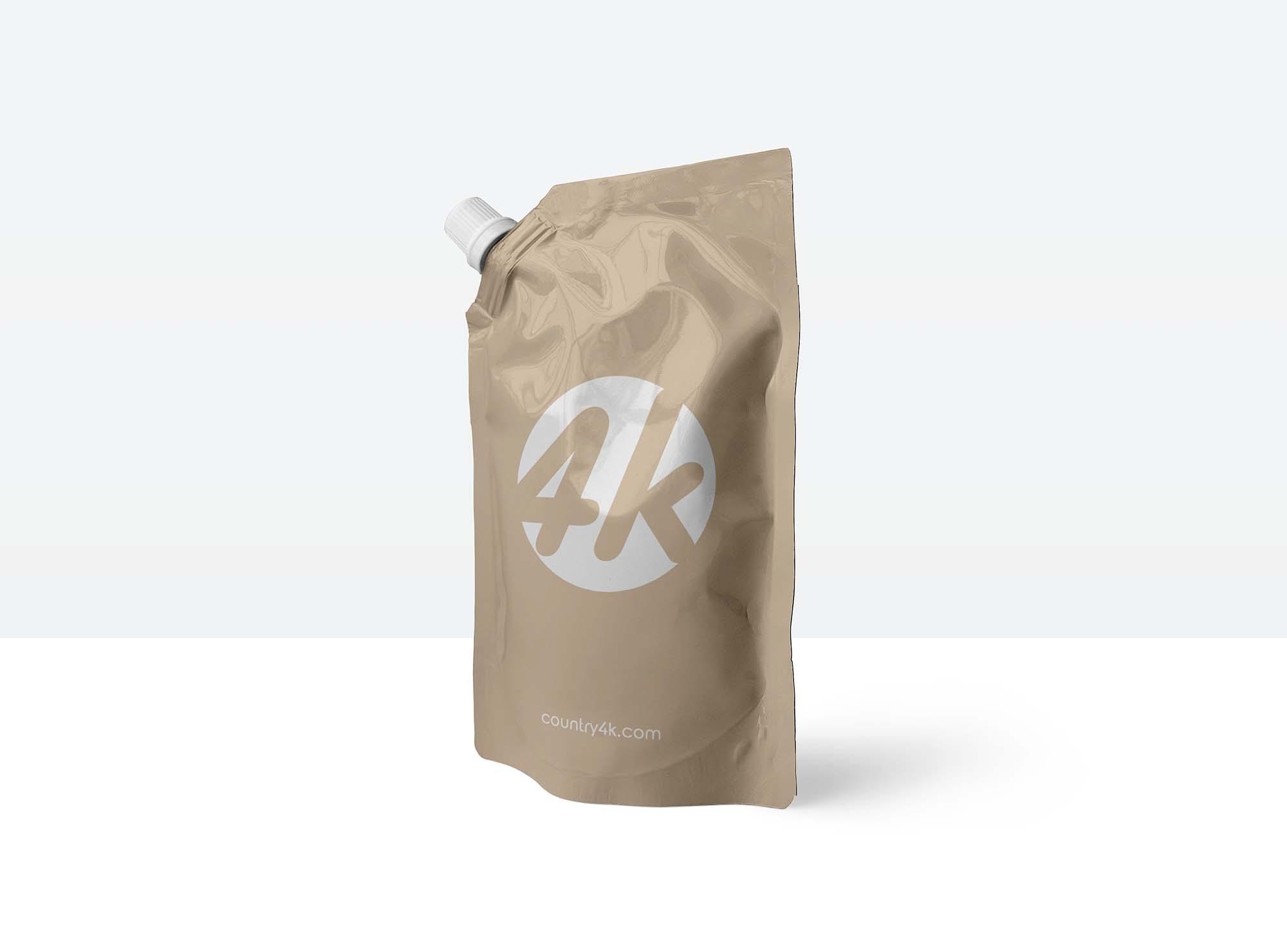 Doypack Foil Bag Mockup 2