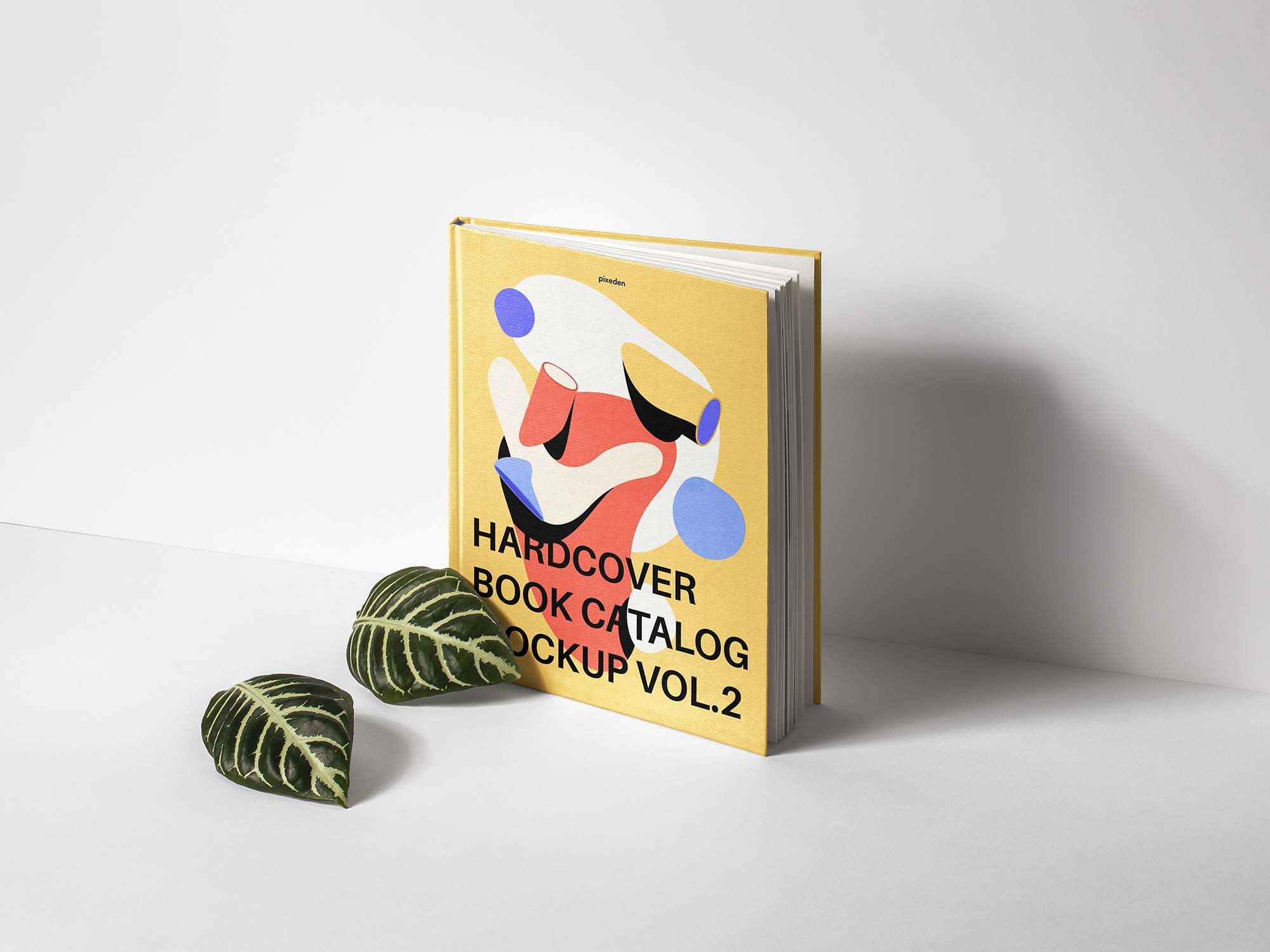 Hardcover Book Catalog Mockup