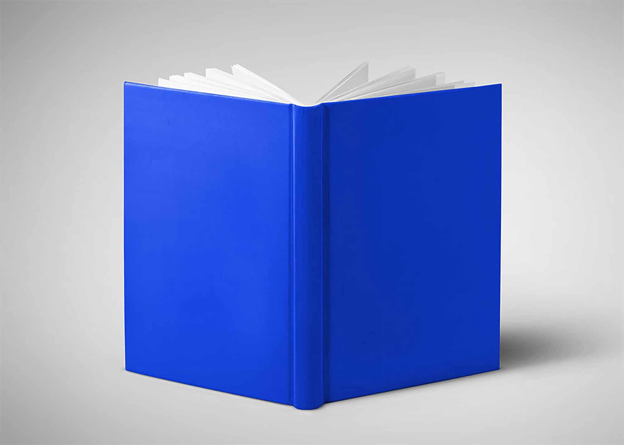 Hardcover Book Mockup 1
