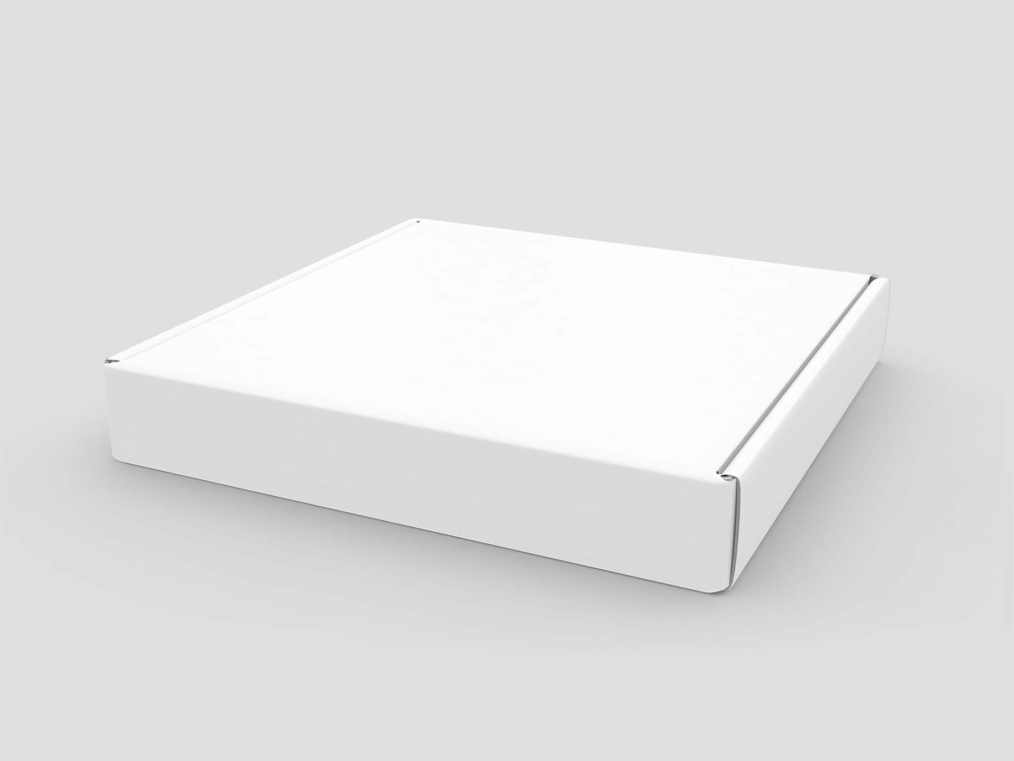 Horizontal Box Cover Mockup PSD