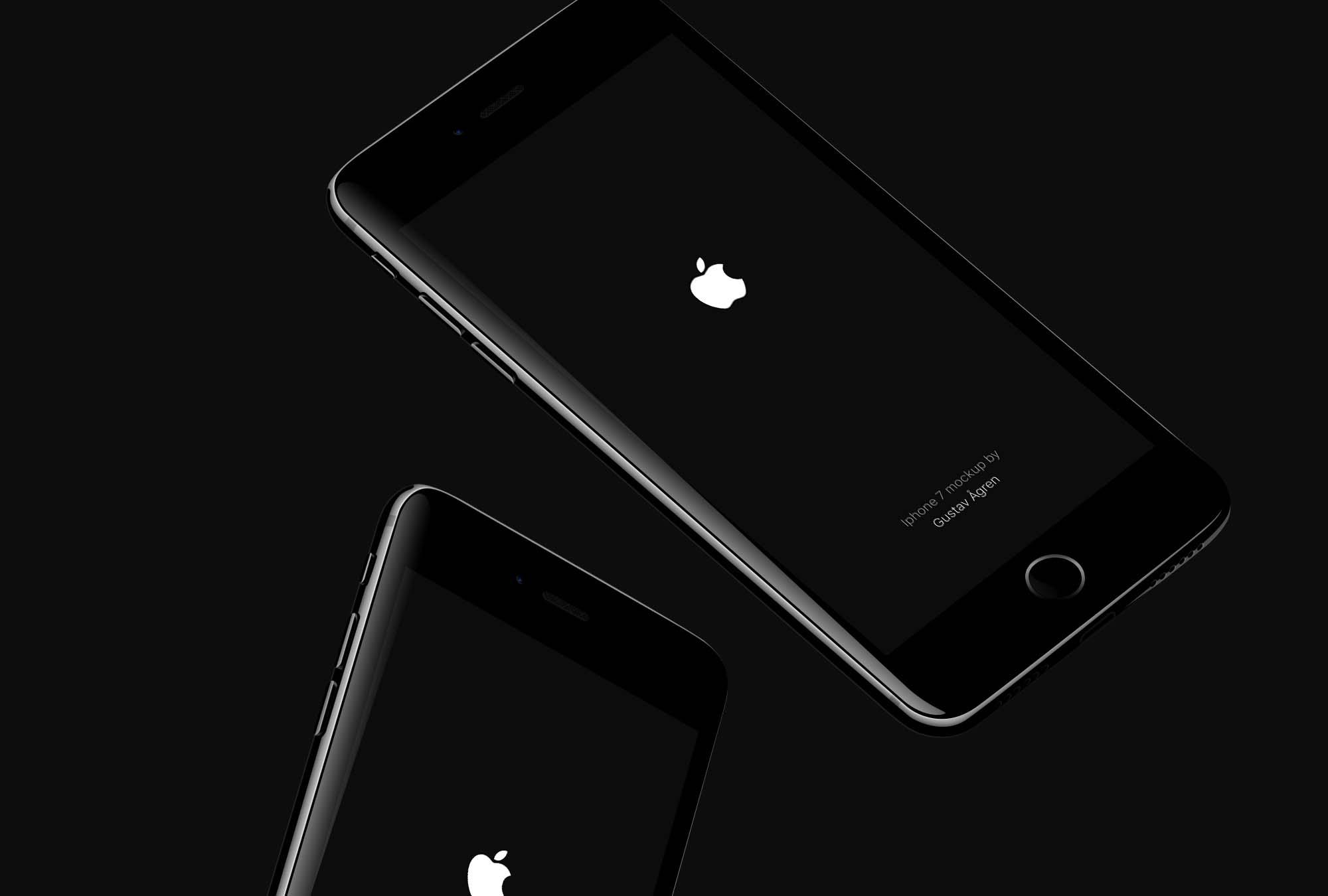 JetBlack Phone Mockup