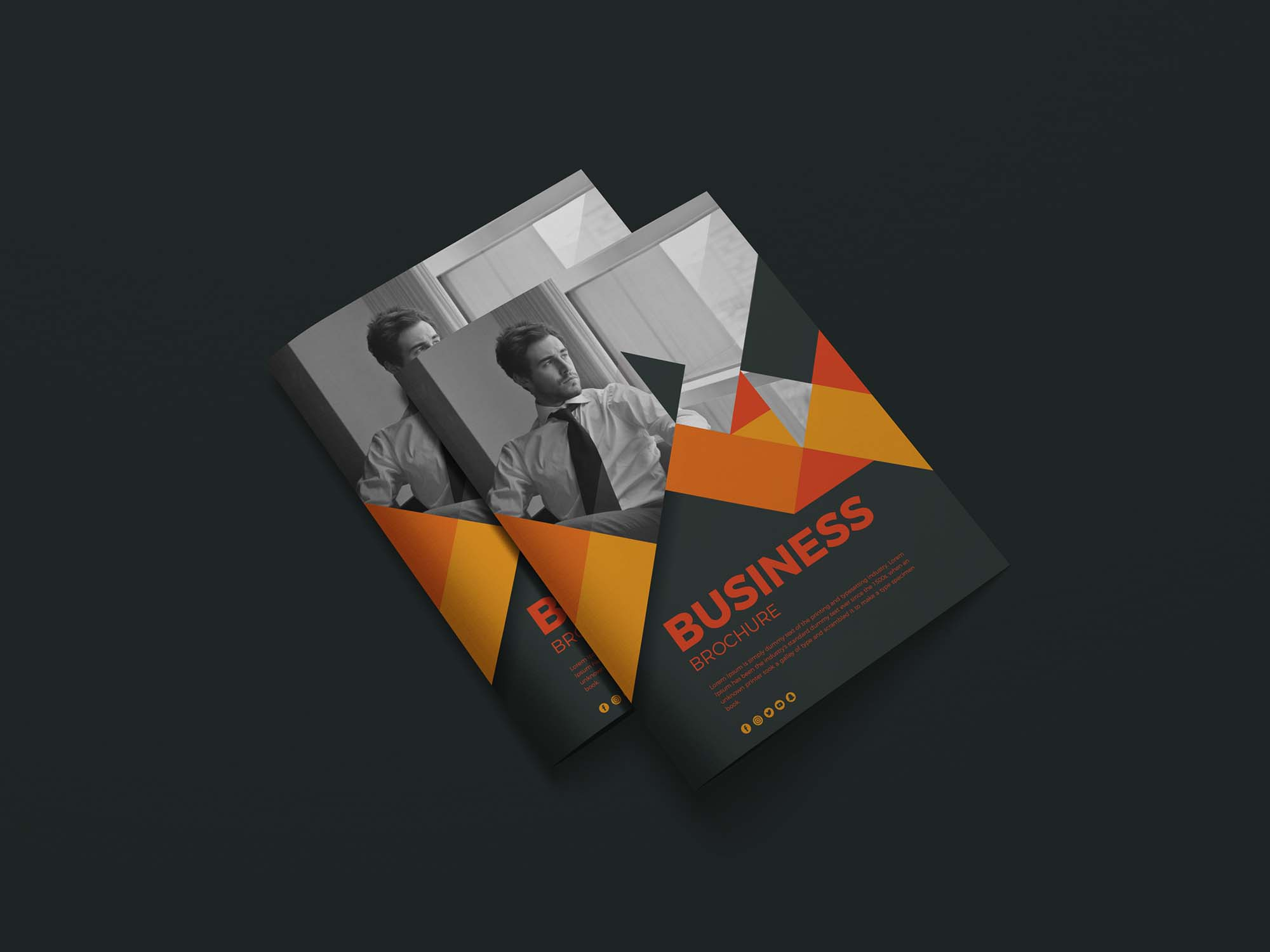 Letter Size Brochure Mockup 2