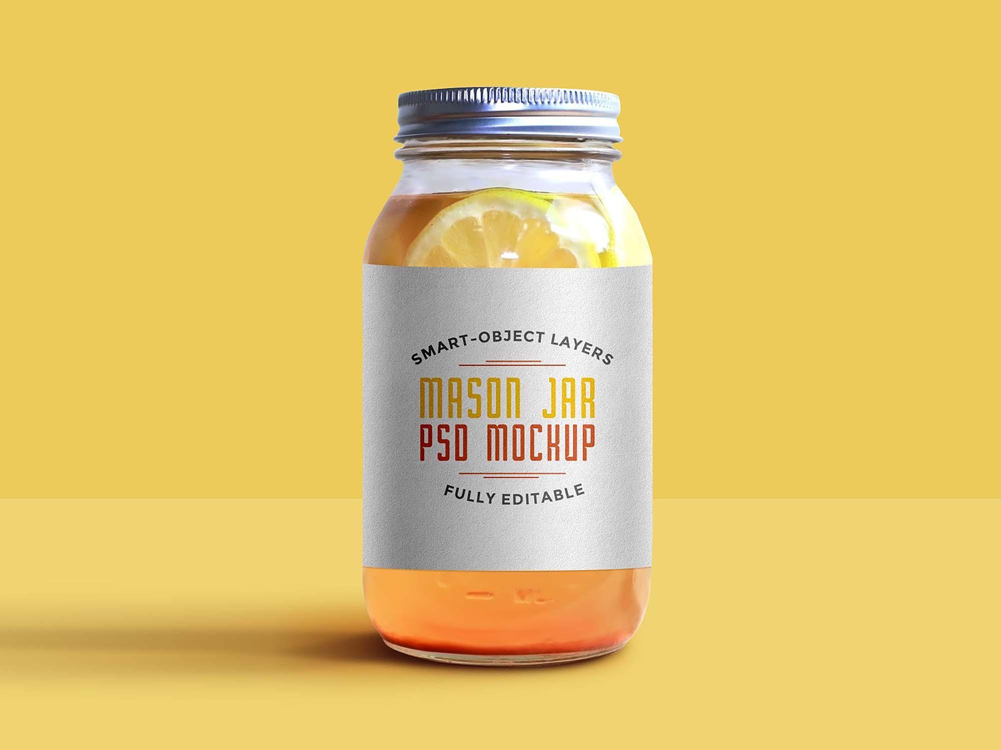Mason Jar Mockup 2