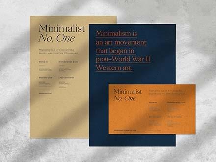 Minimalist Branding Mockup