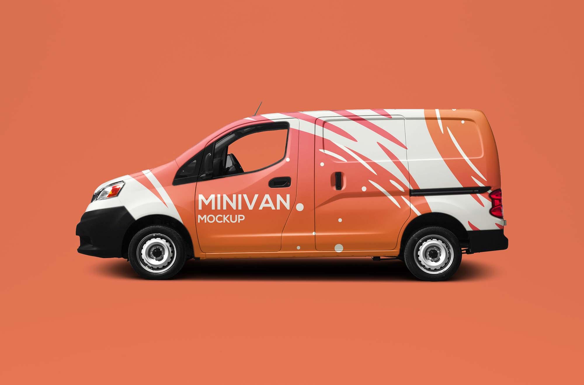Minivan Mockup 2
