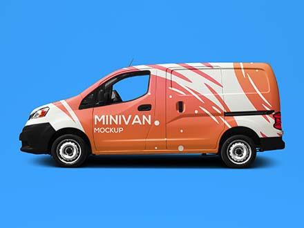 Minivan Mockup